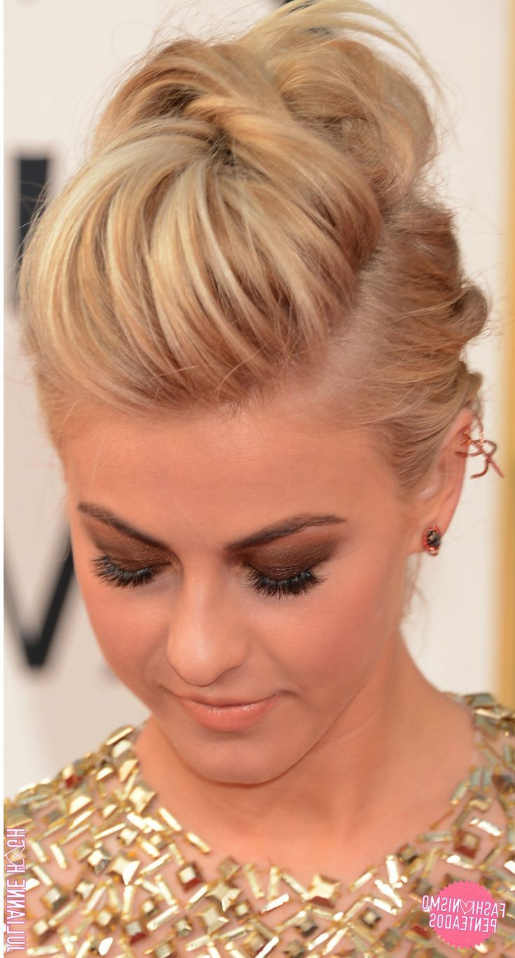 10 Ideias De Penteados: Julianne Hough | Hairstyle Ideas | Pinterest For Short Formal Hairstyles (View 2 of 20)