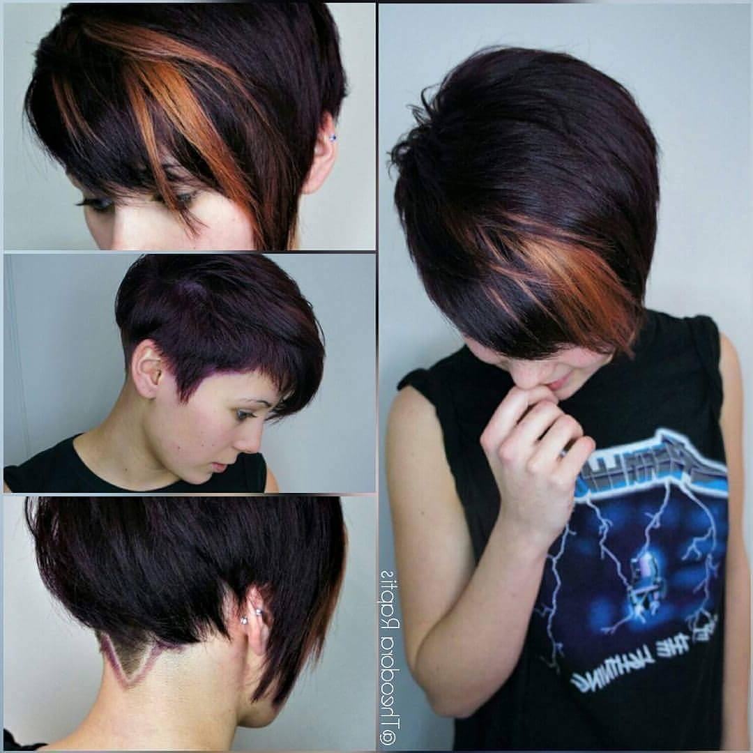 Photo Gallery Of Long Messy Ash Blonde Pixie Haircuts Viewing 11 Of