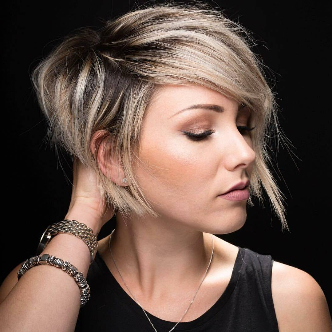 10 Latest Pixie Haircut Designs For Women – Short Hairstyles 2018 Inside Layered Pixie Hairstyles With An Edgy Fringe (View 5 of 20)
