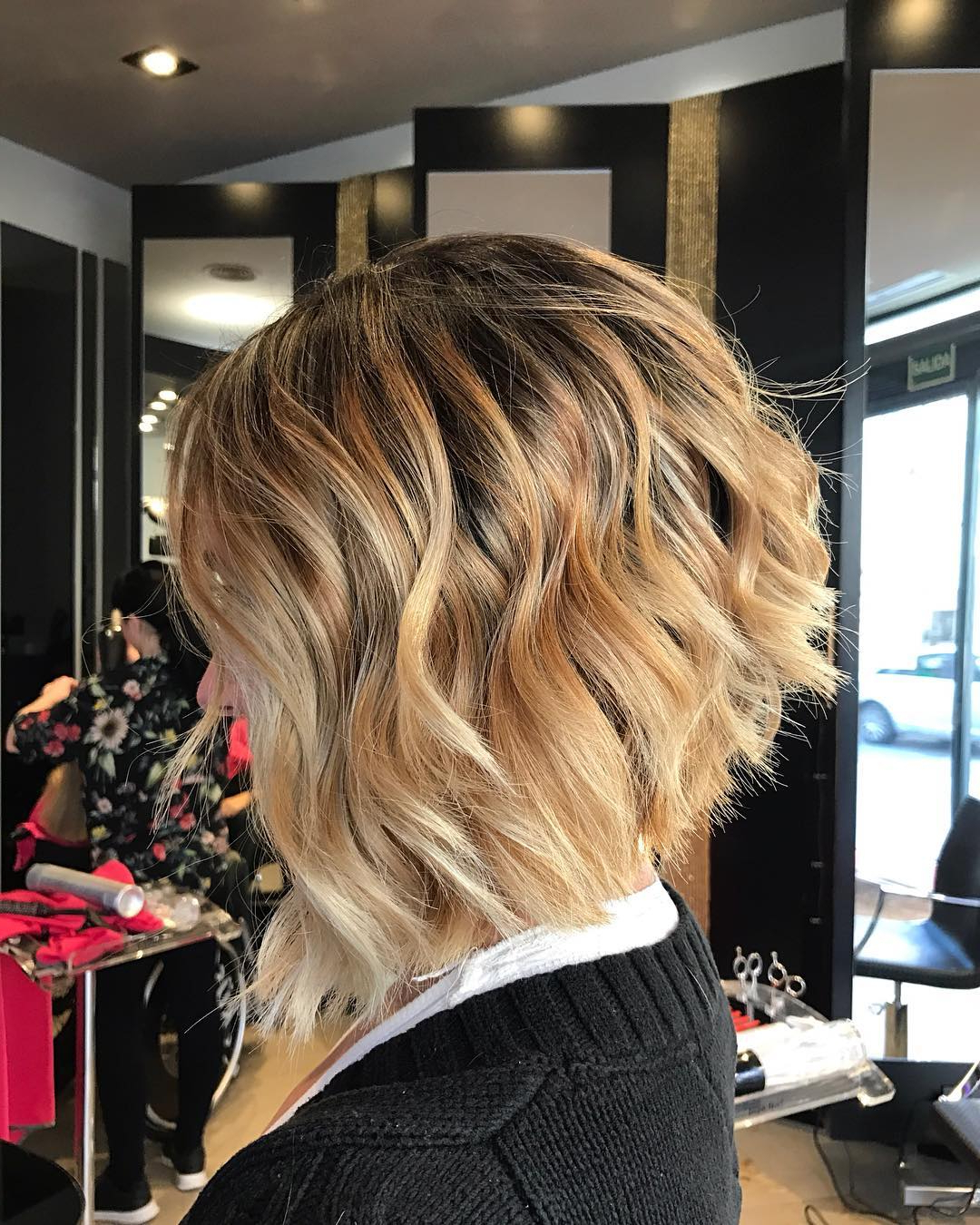 10 Layered Bob Hairstyles – Look Fab In New Blonde Shades! – Popular Inside Curly Angled Bob Hairstyles (View 1 of 20)