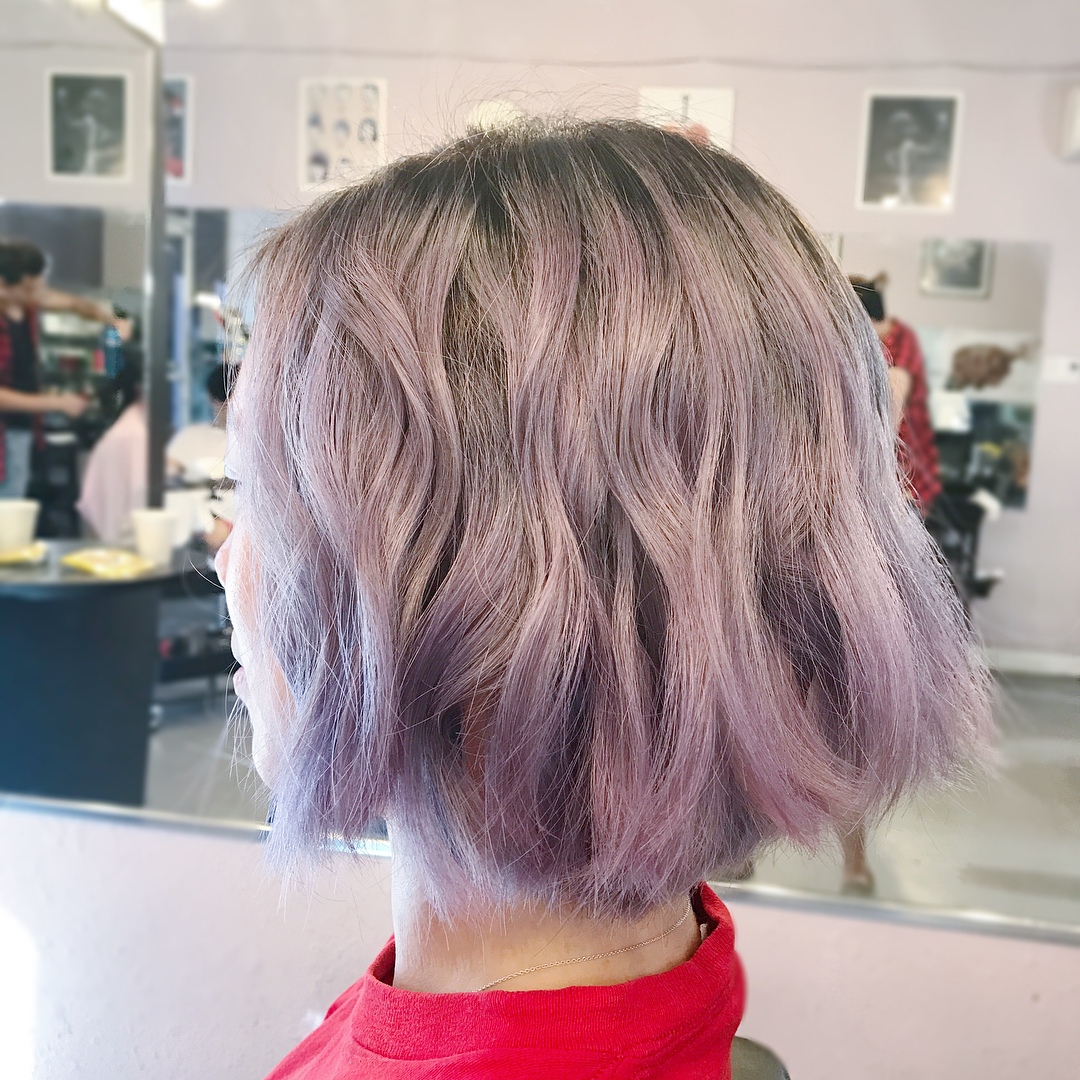 10 Modern Bob Haircuts For Well Groomed Women: Short Hairstyles 2018 Throughout Choppy Brown And Lavender Bob Hairstyles (View 4 of 20)