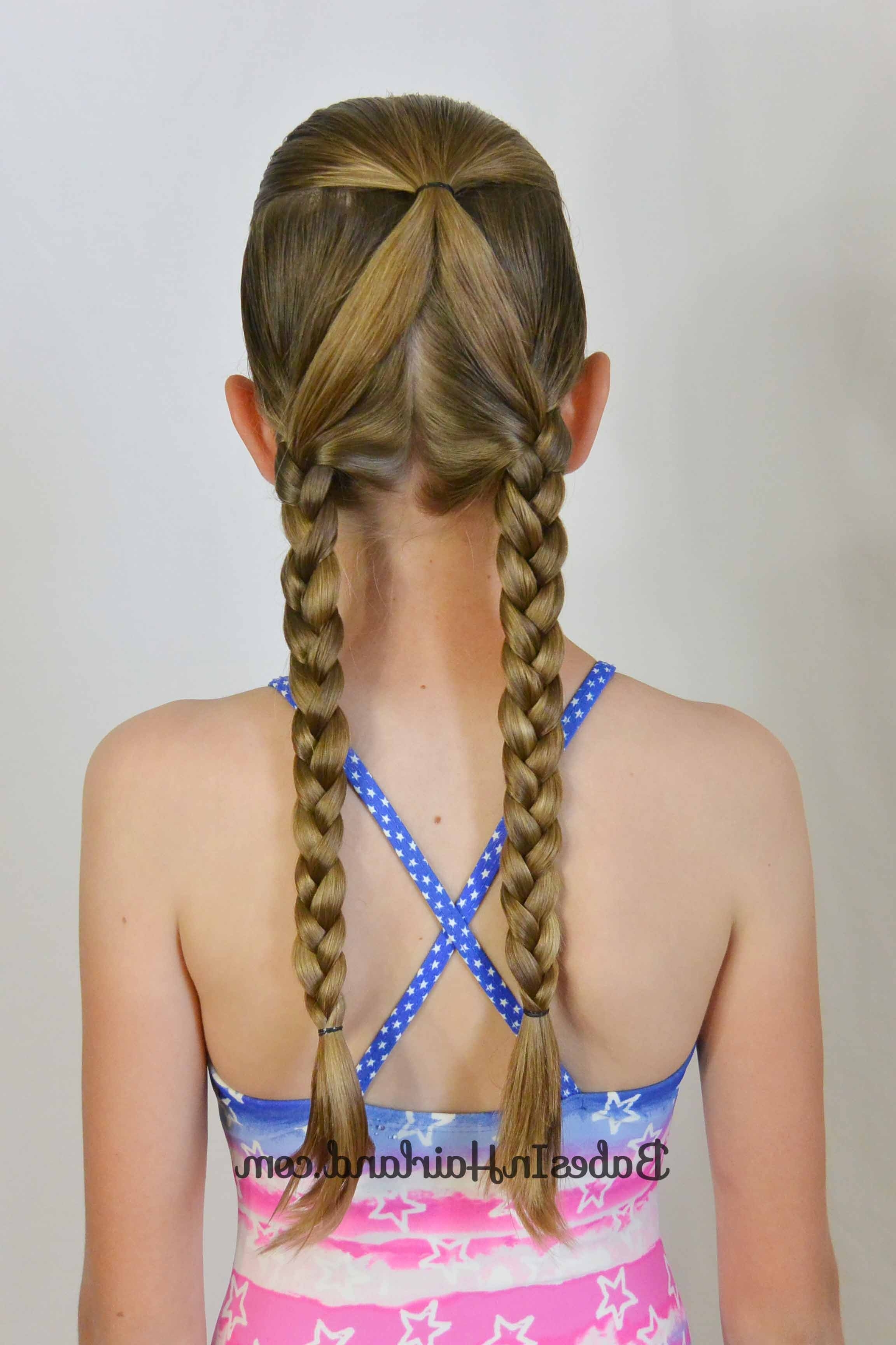 10+ No Fuss Hairstyles For Summer Or The Pool – Babes In Hairland With Latest Beach Friendly Braided Ponytails (View 14 of 20)
