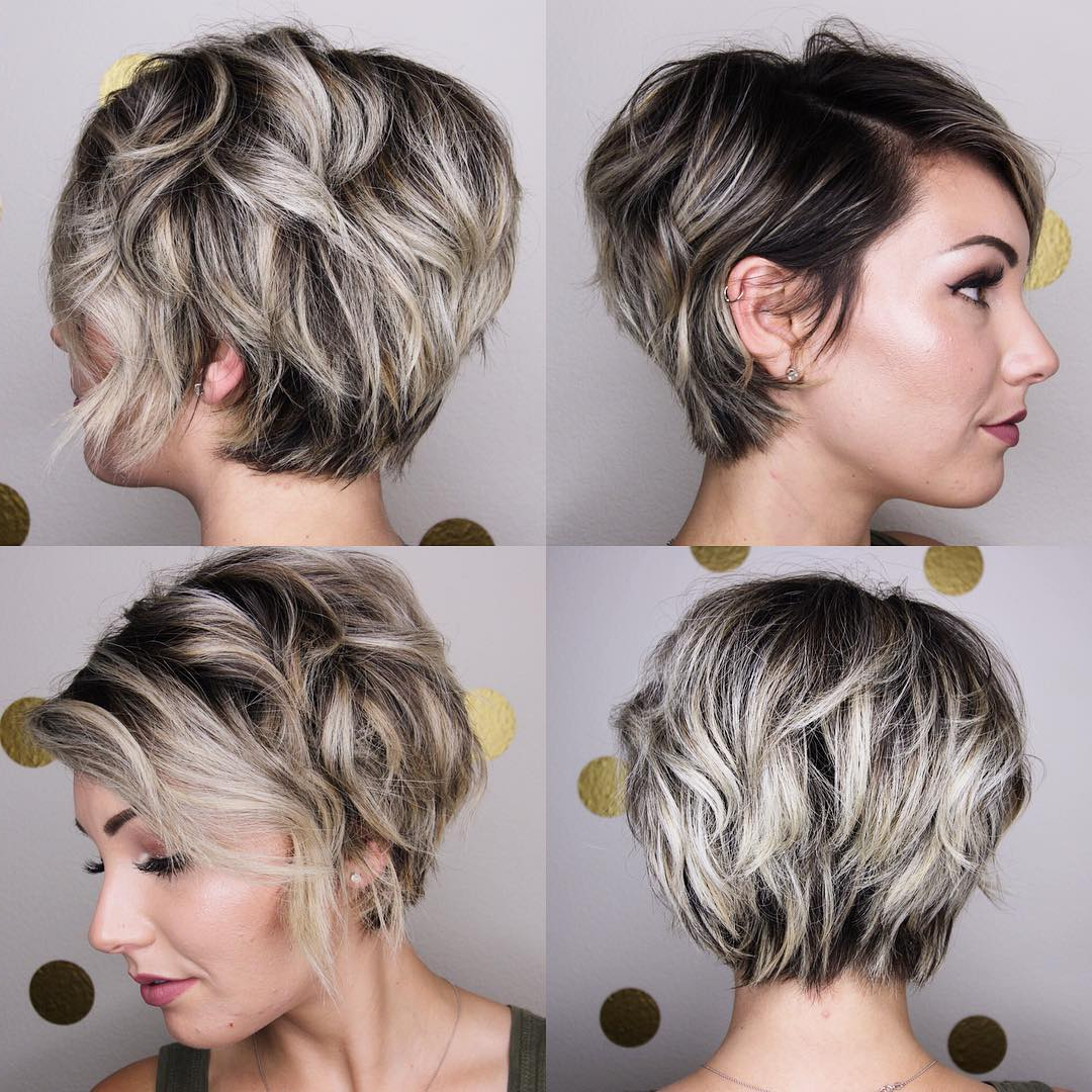 10 Peppy Pixie Cuts – Boy Cuts & Girlie Cuts To Inspire 2019 In Black And Ash Blonde Pixie Bob Hairstyles (View 4 of 20)