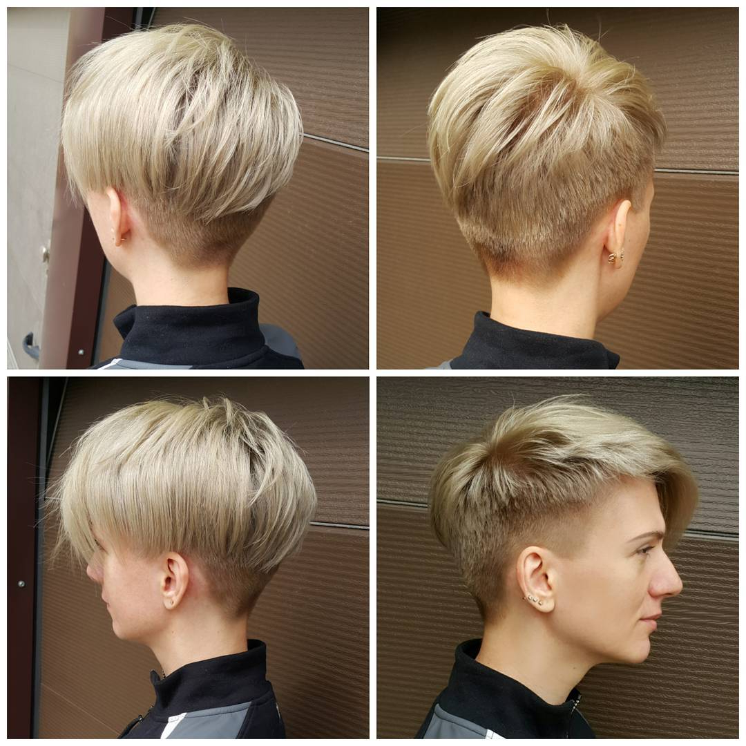 10 Short Edgy Haircuts For Women – Try A Shocking New Cut & Color With Sexy Pastel Pixie Hairstyles (View 4 of 20)