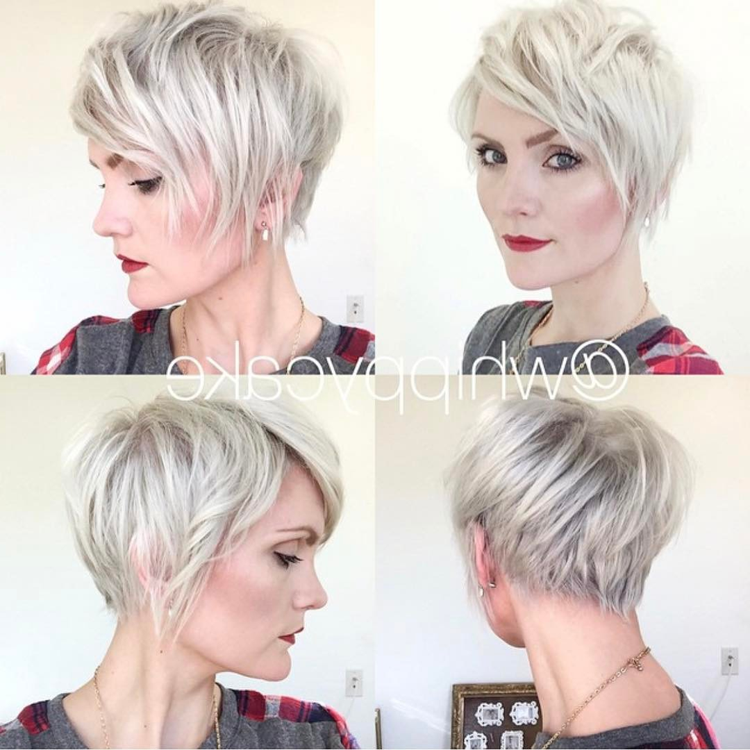 10 Short Shag Hairstyles For Women – 2018 Simple Haircuts For Short Hair In Short Gray Shag Hairstyles (View 1 of 20)