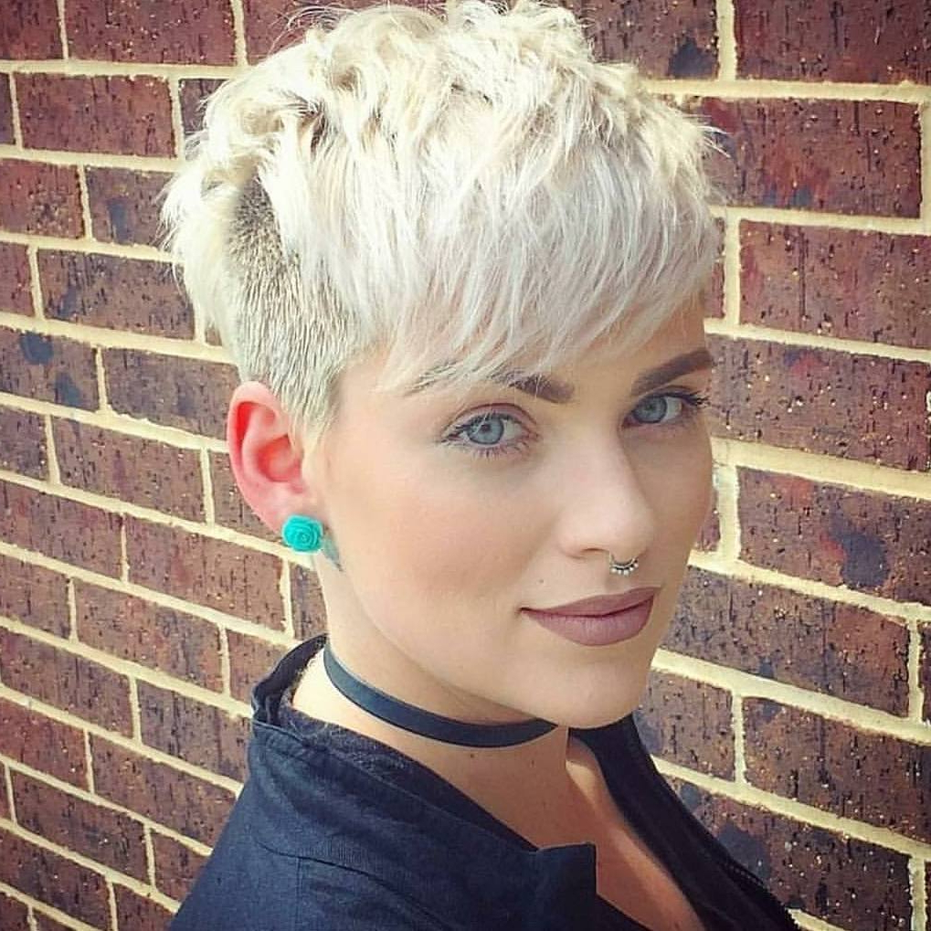10 Trendy Daring Pixie Haircuts, Hairstyle And Color For 2018 – Cool For Messy Pixie Hairstyles For Short Hair (View 2 of 20)