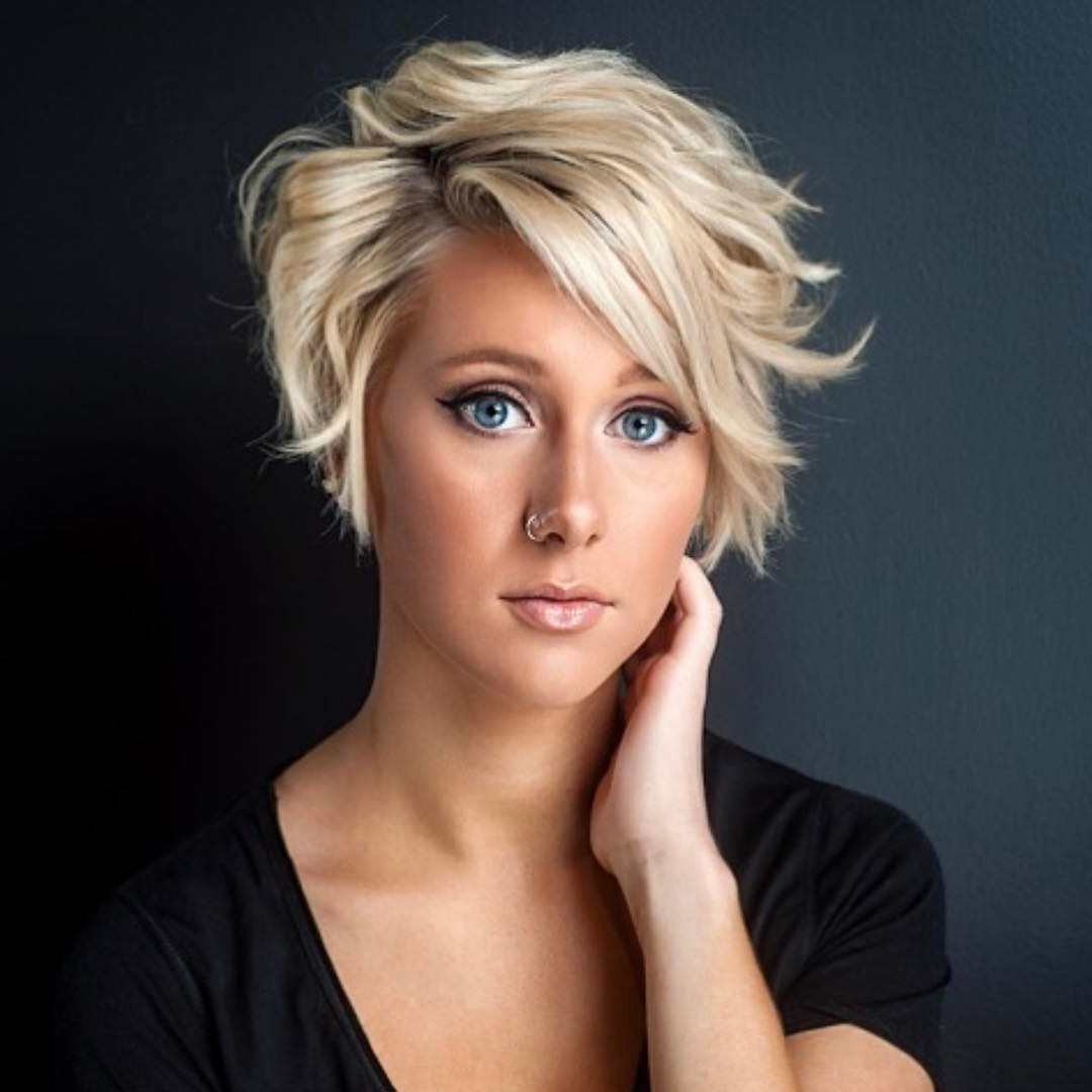 10 Trendy Layered Short Haircut Ideas For 2017 2018 – 'extra Intended For Short Wavy Haircuts With Messy Layers (View 2 of 20)