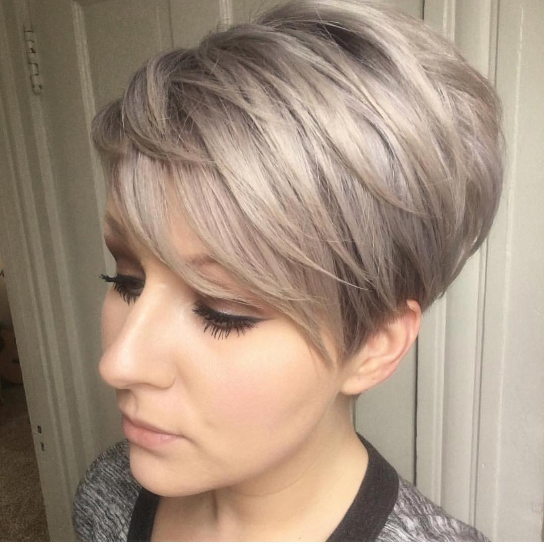10 Trendy Layered Short Haircut Ideas For 2017  2018 – 'extra With Stacked Blonde Balayage Pixie Hairstyles For Brunettes (View 7 of 20)
