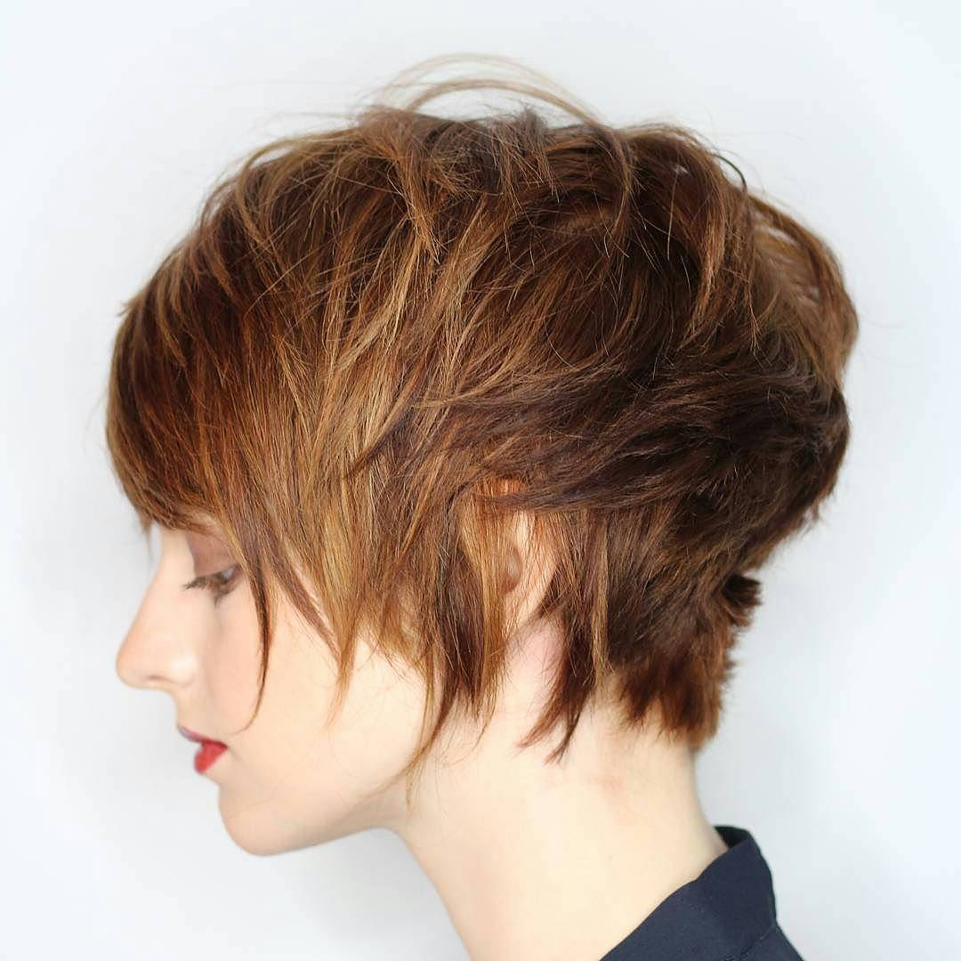 10 Trendy Pixie Haircuts 2017 Short Hair Styles For Women Throughout Curly Golden Brown Pixie Hairstyles (View 9 of 20)