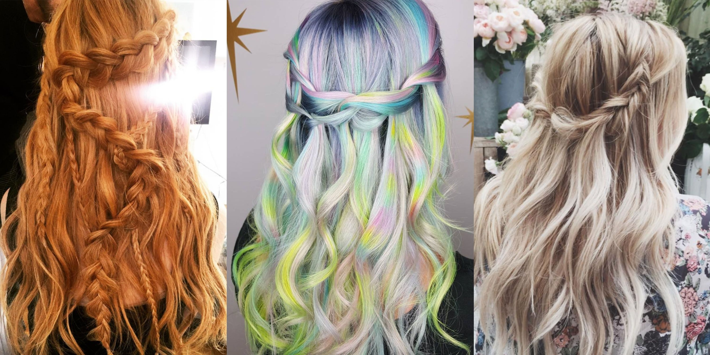 10 Waterfall Braid Hairstyles – Waterfall Braided Hair Inspiration With Regard To Famous Cascading Braided Ponytails (View 3 of 20)