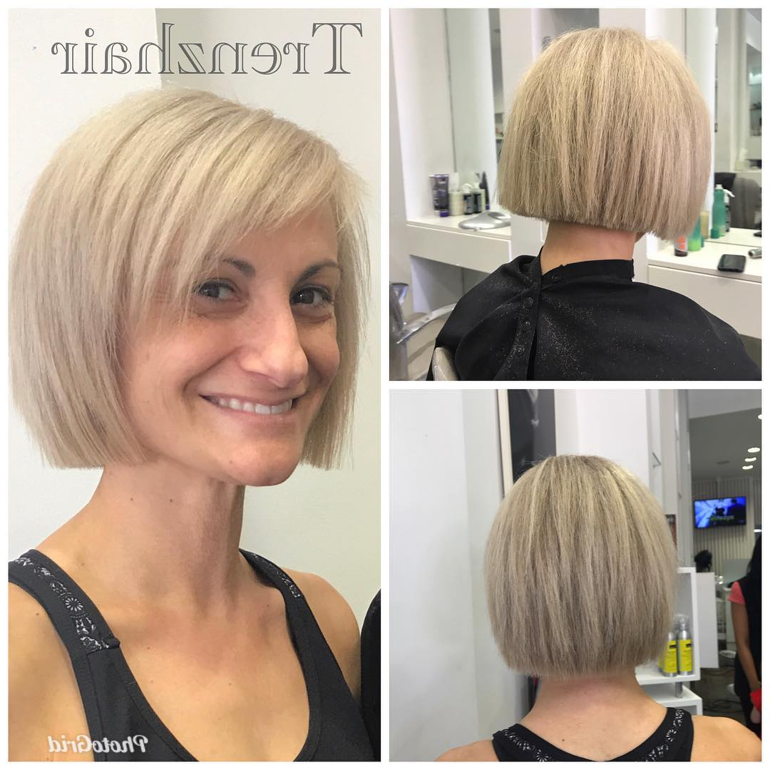 100+ Hottest Short Hairstyles For 2019: Best Short Haircuts For Intended For Sleek Metallic White Pixie Bob Haircuts (View 16 of 20)