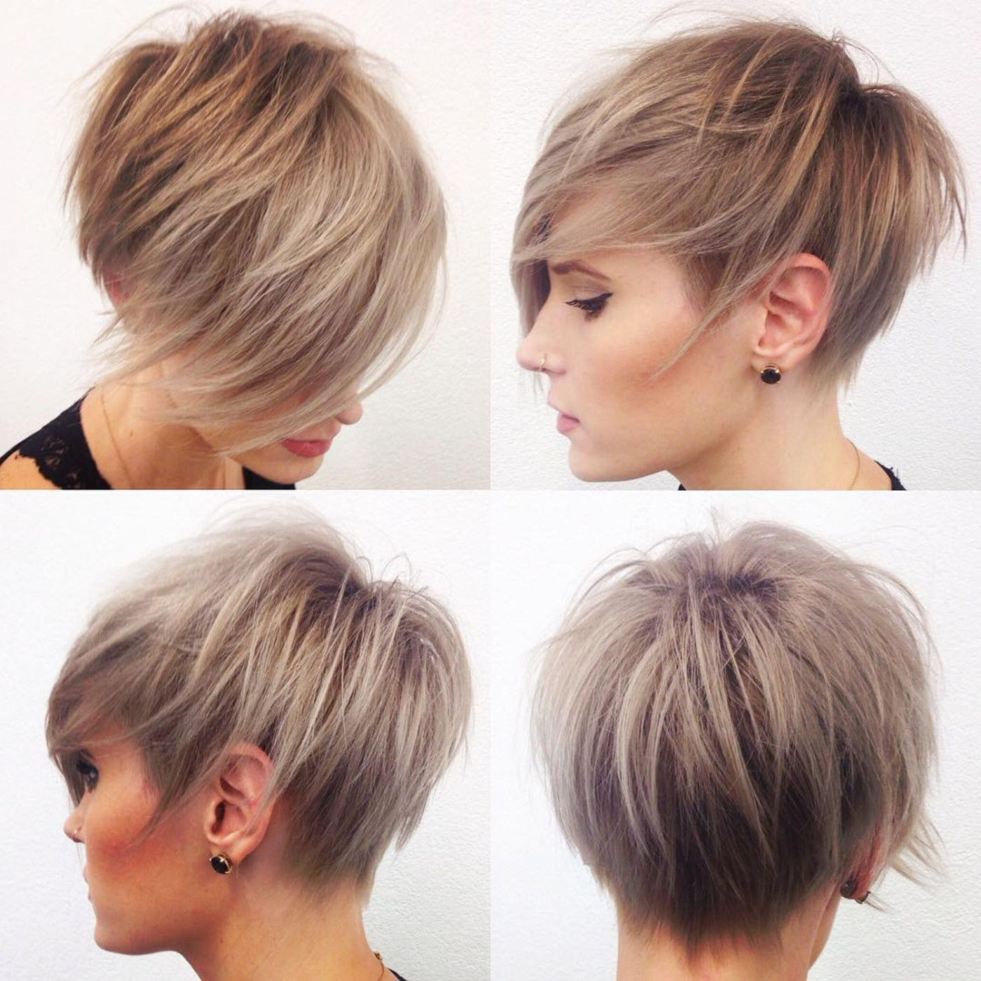 100 Mind Blowing Short Hairstyles For Fine Hair | Hair And Beauty Inside Razored Pixie Bob Haircuts With Irregular Layers (View 3 of 20)