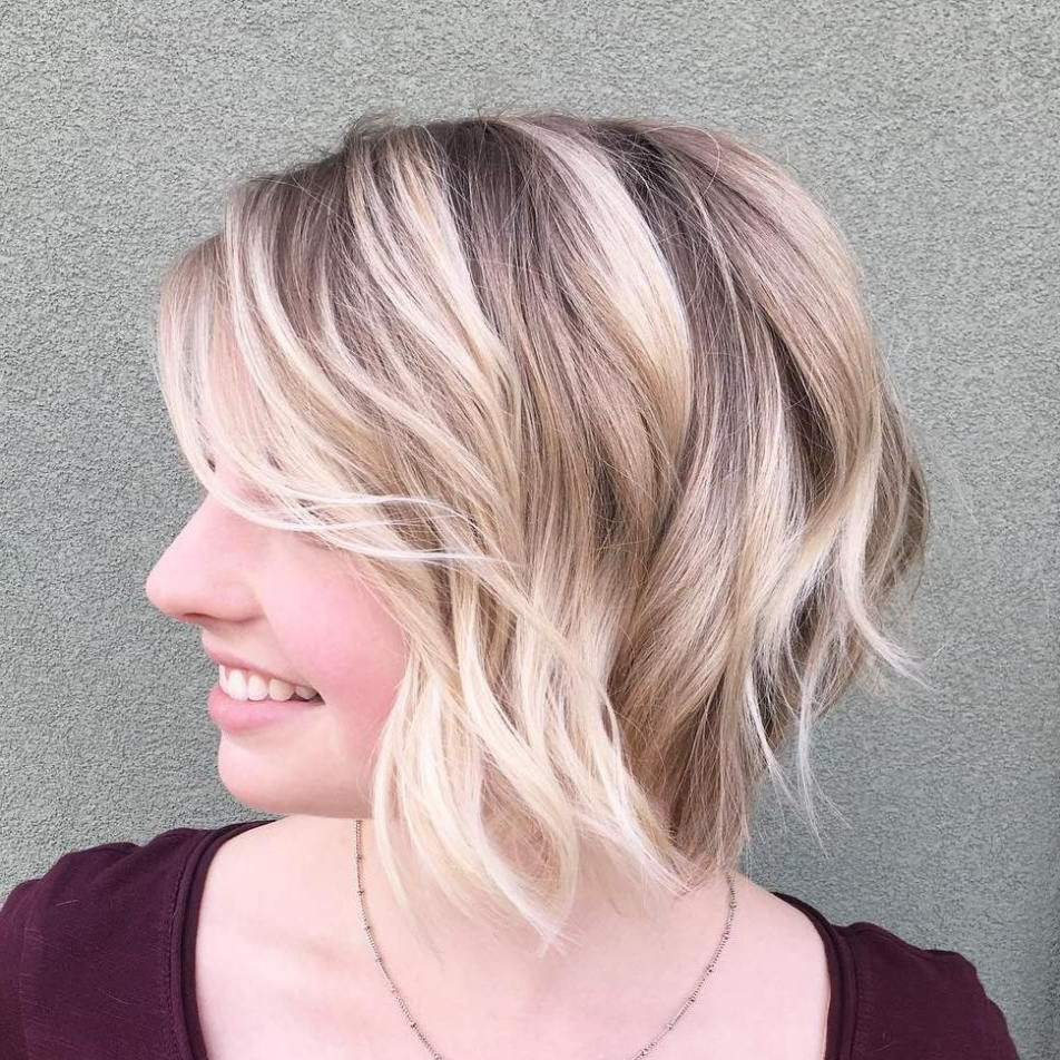 100 Mind Blowing Short Hairstyles For Fine Hair | Hair For Hazel Blonde Razored Bob Hairstyles (View 3 of 20)