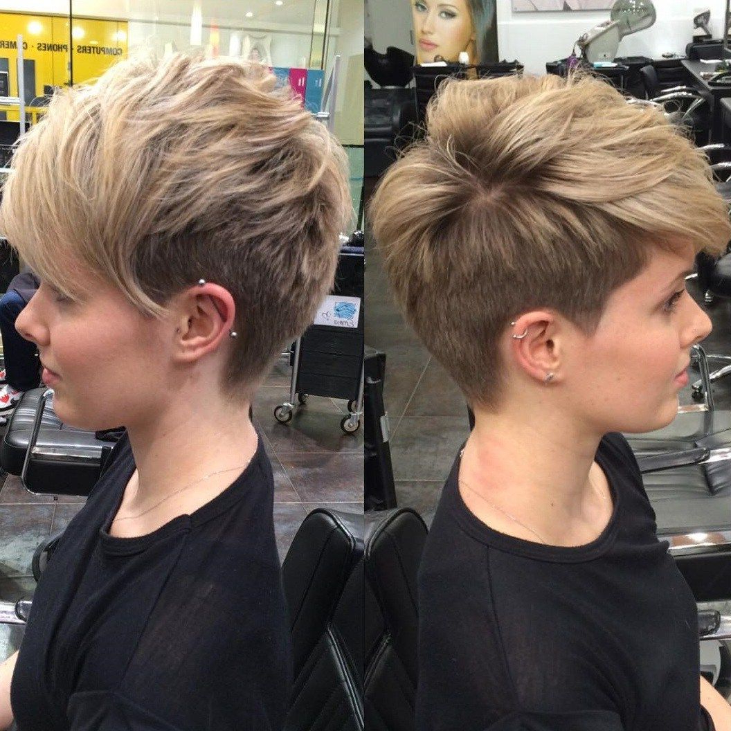 100 Mind Blowing Short Hairstyles For Fine Hair | Hair | Pinterest For Edgy Pixie Haircuts For Fine Hair (View 4 of 20)