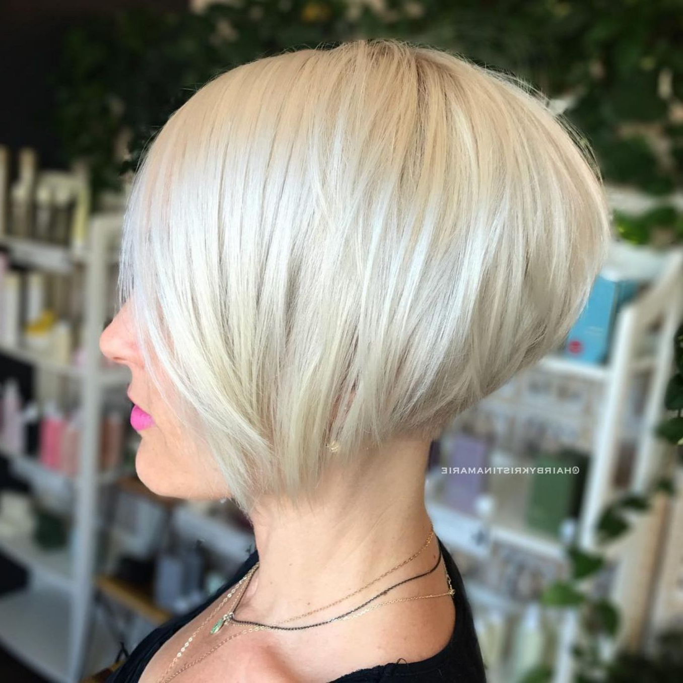 100 Mind Blowing Short Hairstyles For Fine Hair | Hair | Pinterest Pertaining To White Blonde Bob Haircuts For Fine Hair (View 10 of 20)
