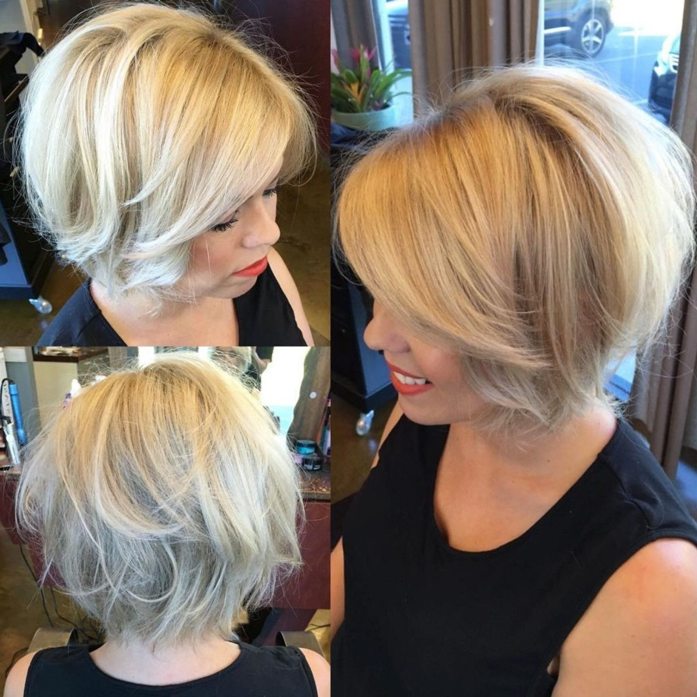100 Mind Blowing Short Hairstyles For Fine Hair | Hair | Pinterest With Southern Belle Bob Haircuts With Gradual Layers (View 1 of 20)