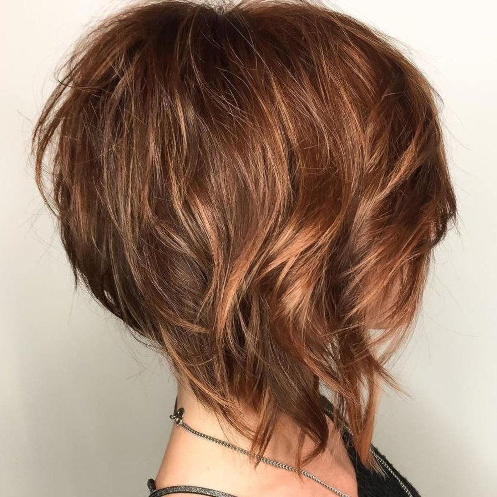 100 Mind Blowing Short Hairstyles For Fine Hair In 2018 | Hairstyles Intended For Short Red Haircuts With Wispy Layers (View 1 of 20)