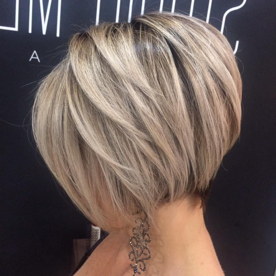 Featured Photo of Ash Blonde Bob Hairstyles With Feathered Layers