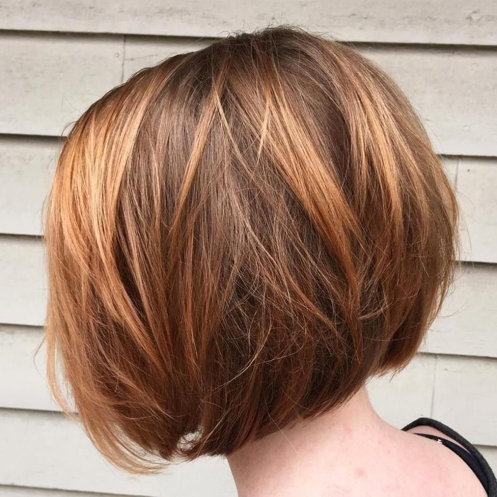 100 Mind Blowing Short Hairstyles For Fine Hair | My Hair With Regard To Modern Chocolate Bob Haircuts (View 9 of 20)