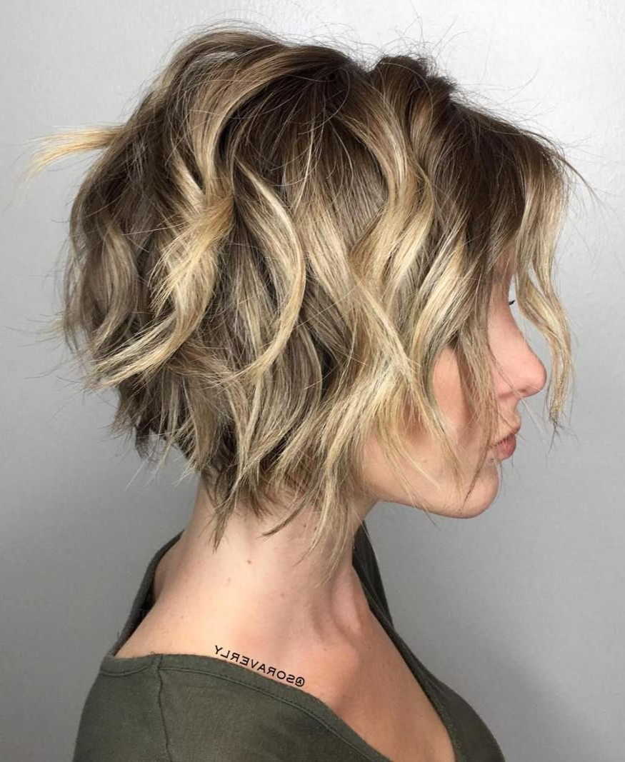 100 Mind Blowing Short Hairstyles For Fine Hair | Razored Bob, Bobs Pertaining To Hazel Blonde Razored Bob Hairstyles (View 4 of 20)