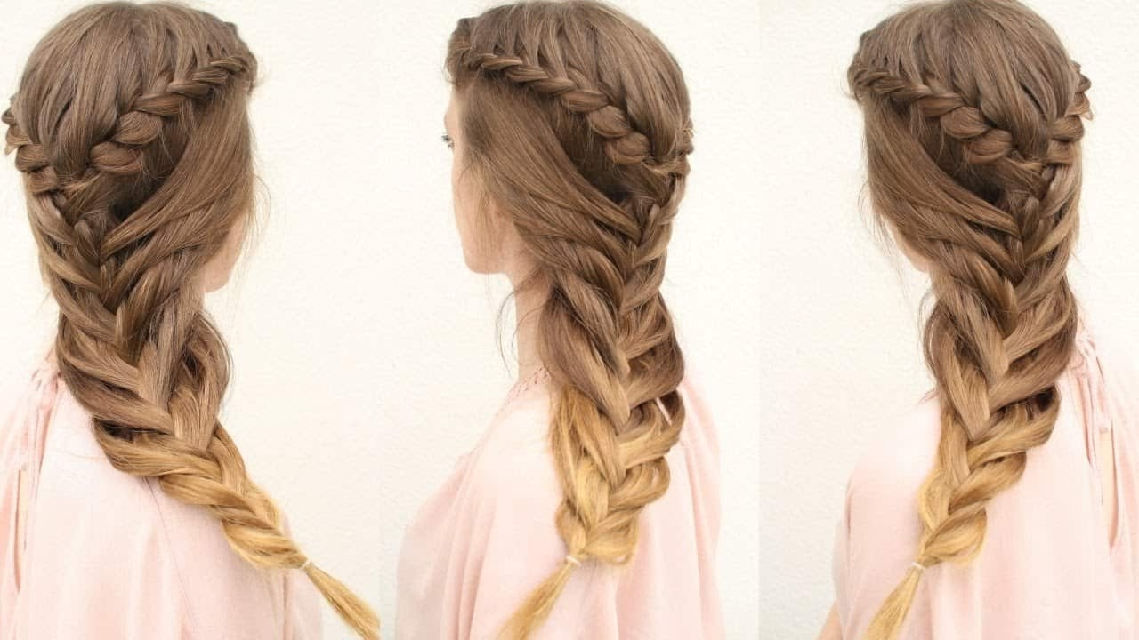 12 Captivating Braided Hairdos That Are Almost Maze Like With Regard To Best And Newest Braided Maze Low Ponytail Hairstyles (View 13 of 20)