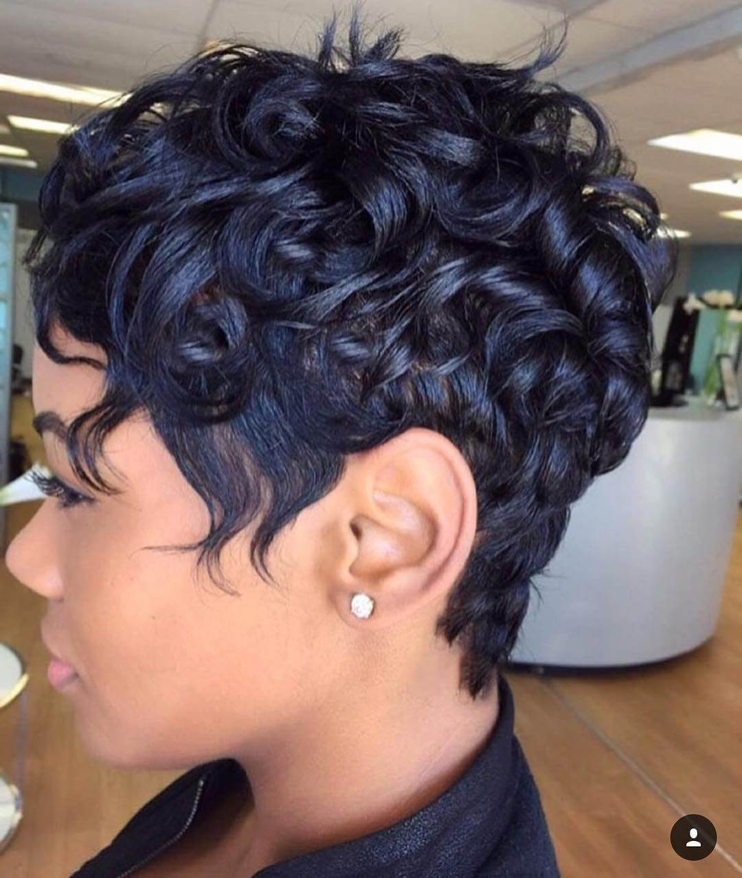 12 Curly Pixie Cut For Short Or Medium Length Hair In Curly Black Tapered Pixie Hairstyles (View 1 of 20)