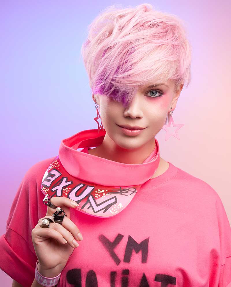 12 Gorgeous Pastel Shades For Short Hair – Style Mish With Regard To Pastel Pink Textured Pixie Hairstyles (View 15 of 20)