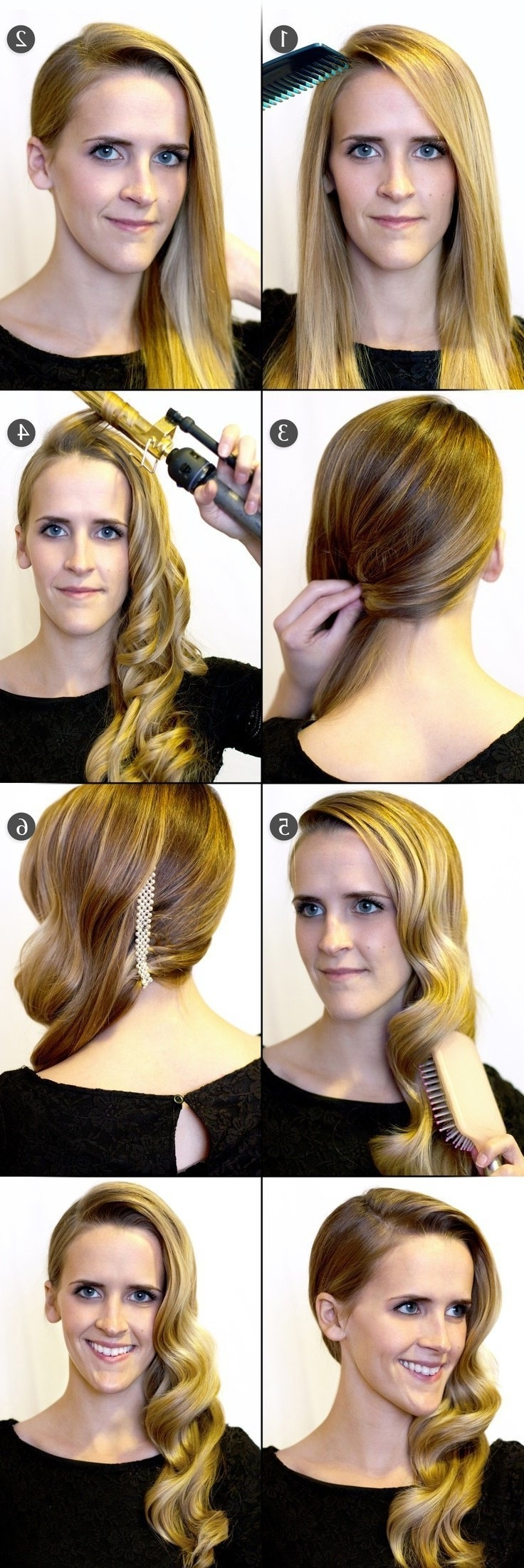 12 Simple & Easy Hairstyles For Girls Who Are Always In A Hurry With Regard To Latest 2 Minute Side Pony Hairstyles (View 1 of 20)