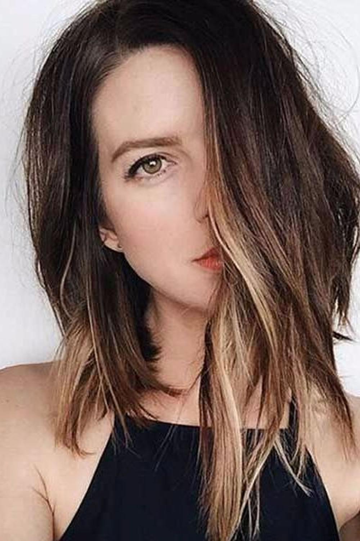 13 Easy (lob) Asymmetrical Long Bob Haircuts For Summer Hair – Page Within Chic Asymmetrical Haircuts (View 8 of 20)