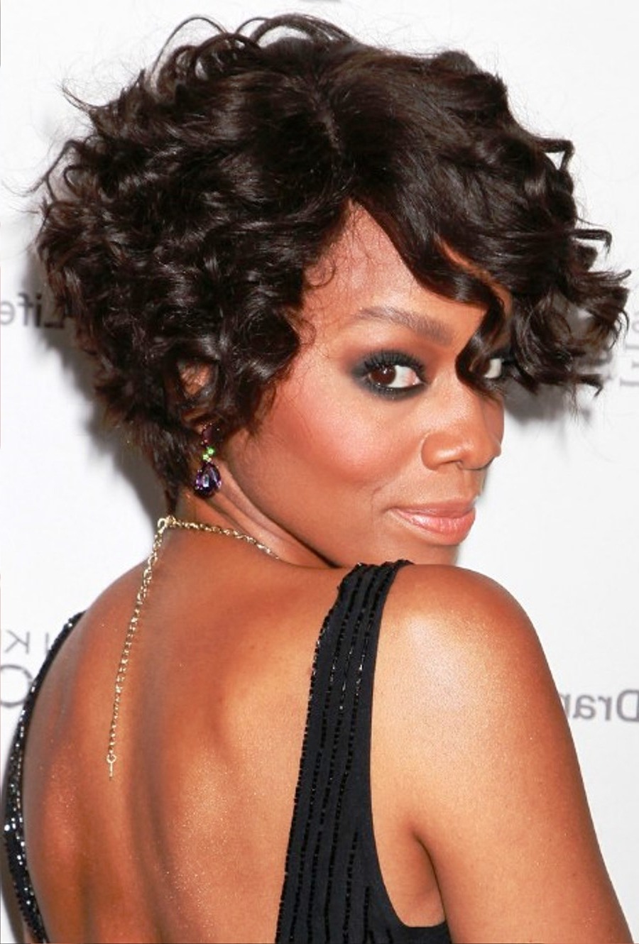 14 Most Beautiful Short Curly Hairstyles And Haircuts For Women Throughout Short Bob For Curly Hairstyles (View 10 of 20)