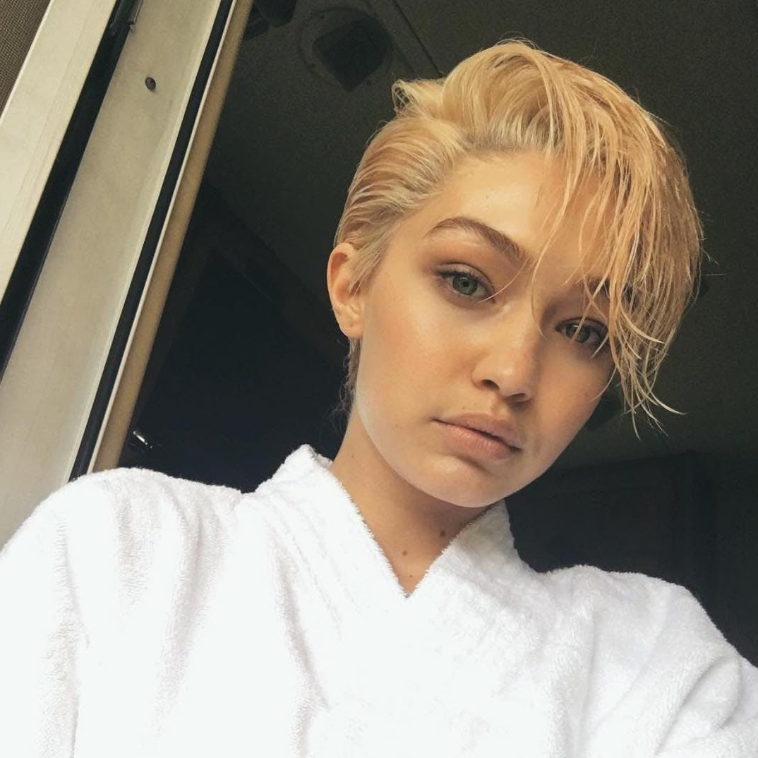 14 Must See Celeb Pixie Cuts That Are Summer Hair Goals | Brit + Co Regarding Sunny Blonde Finely Chopped Pixie Haircuts (View 3 of 20)