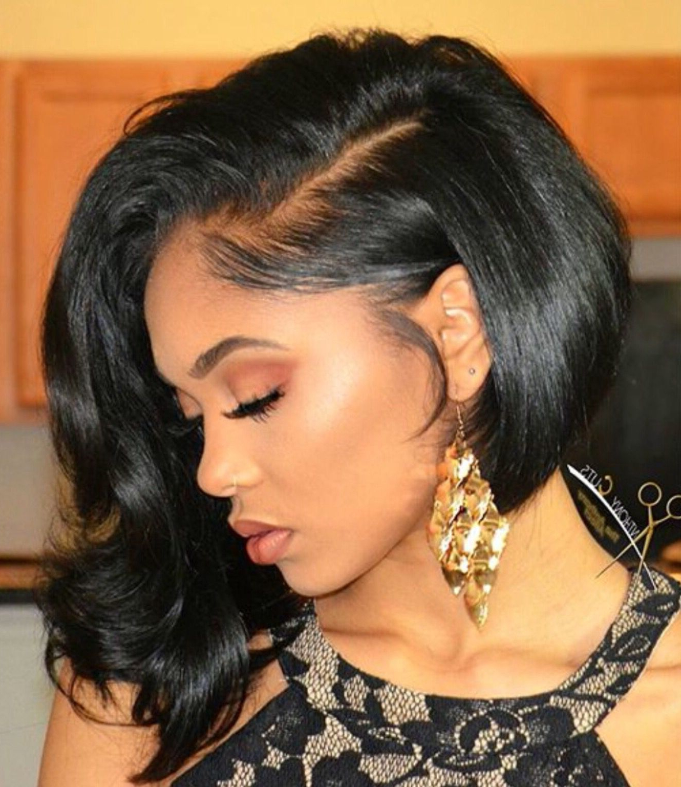 15 Curly Weave Hairstyles For Long And Short Hair Types | Hairstyles Regarding Bouncy Curly Black Bob Hairstyles (View 1 of 20)