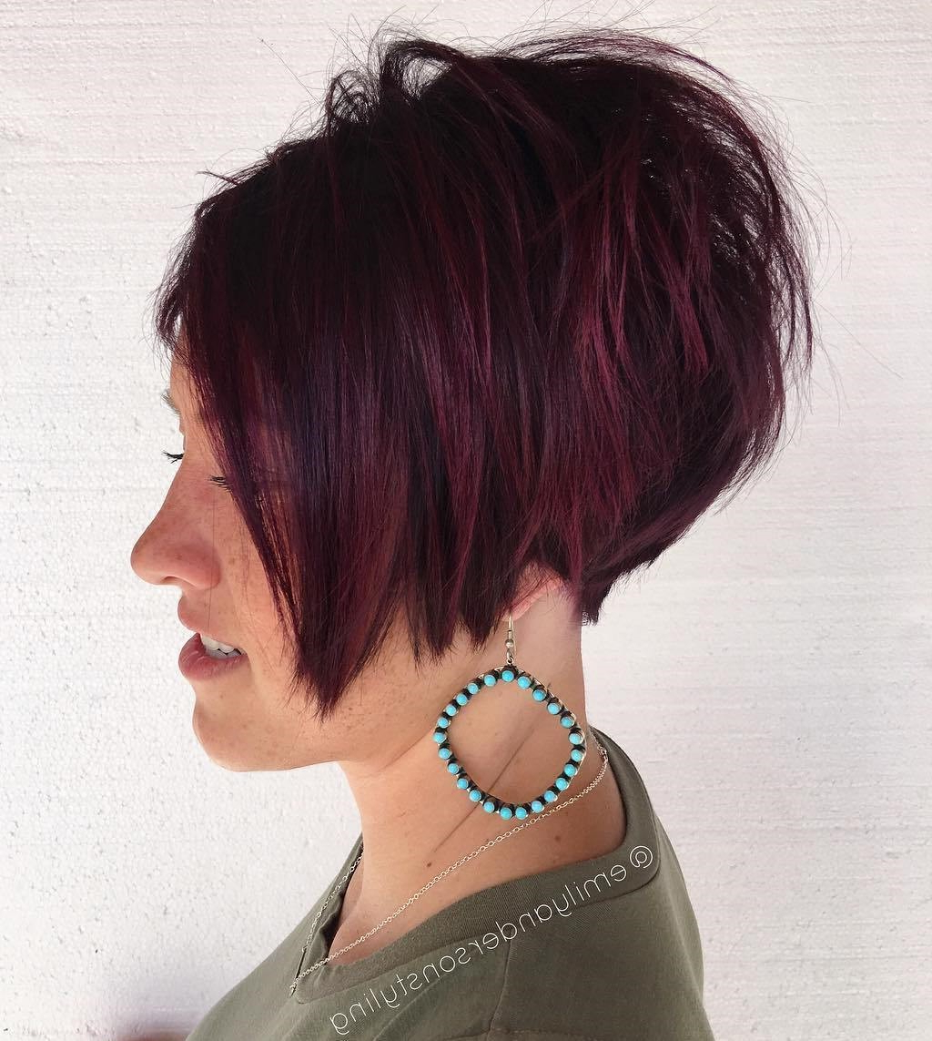 15 Gorgeous Short Hairstyles That Will Make You Cut Your Hair Throughout Choppy Pixie Bob Haircuts With Stacked Nape (View 18 of 20)