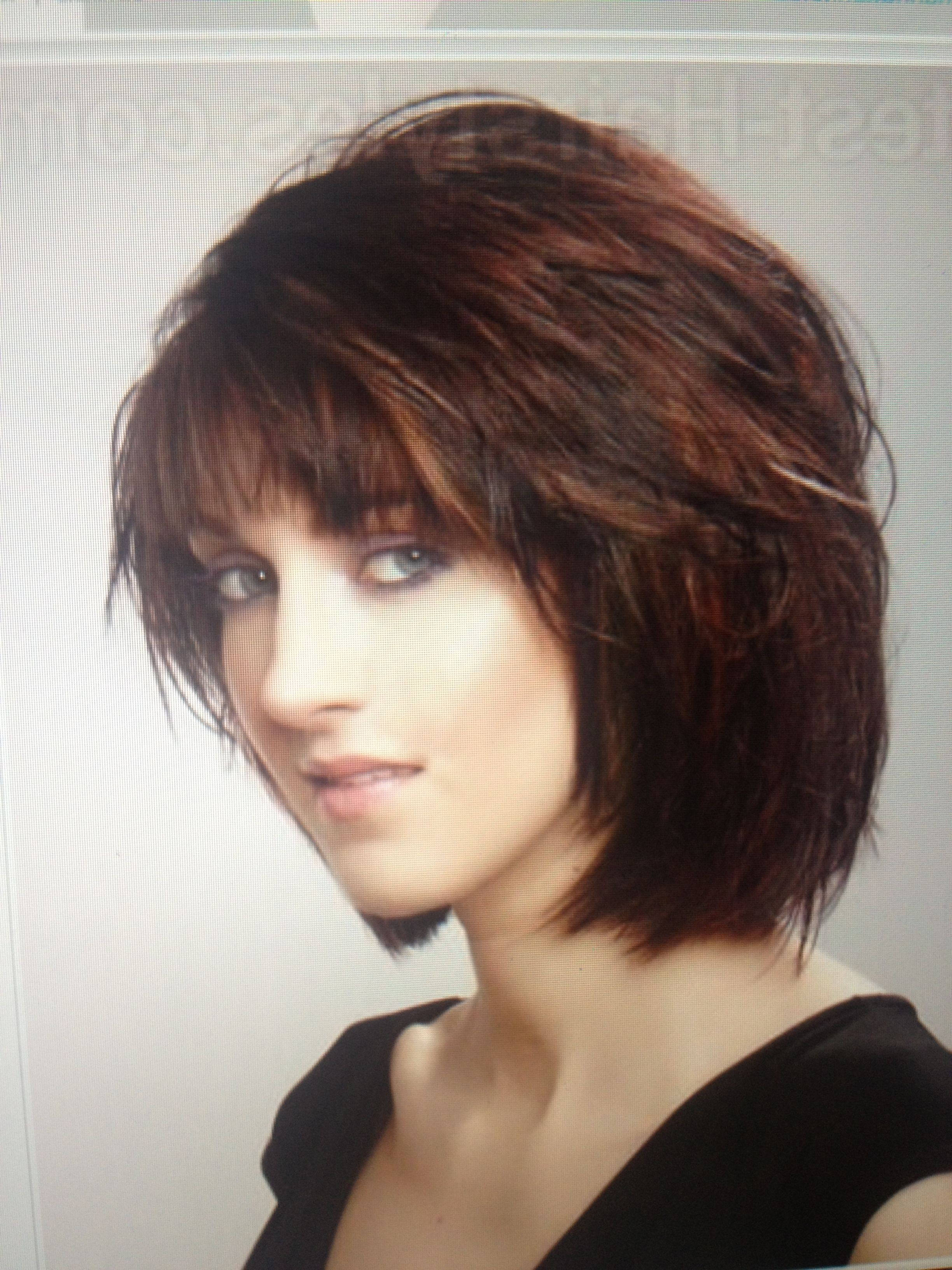 19 Fine Looking Short Hairstyles With Bangs – Pictures And Style Regarding Short Red Haircuts With Wispy Layers (View 3 of 20)