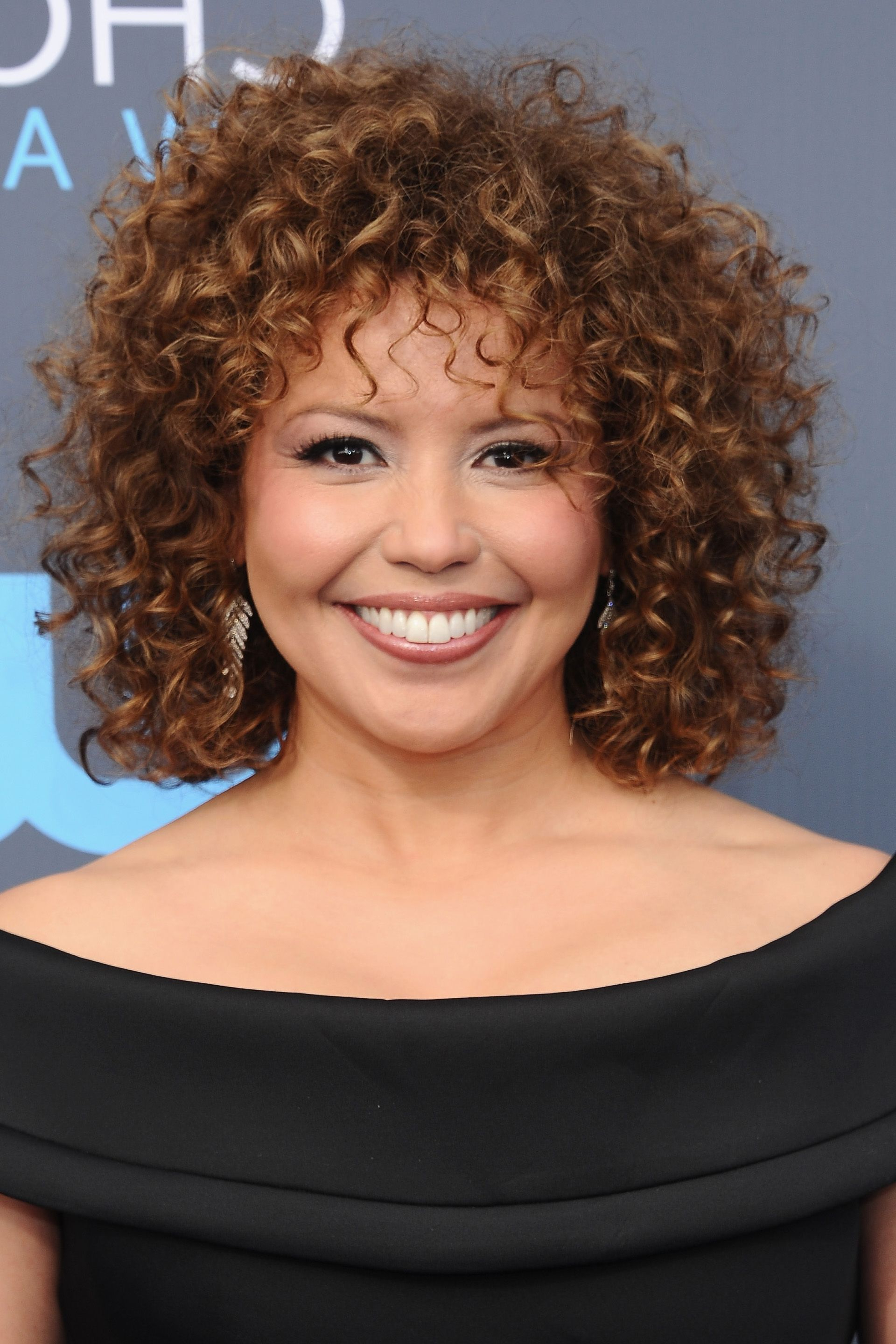 20 Celebrity Short Curly Hair Ideas – Short Haircuts And Hairstyles With Short Black Hairstyles With Tousled Curls (View 3 of 20)