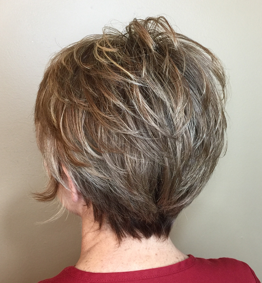 20 Flawless Pixie Haircuts For Women Over 50 With Razored Pixie Bob Haircuts With Irregular Layers (View 4 of 20)
