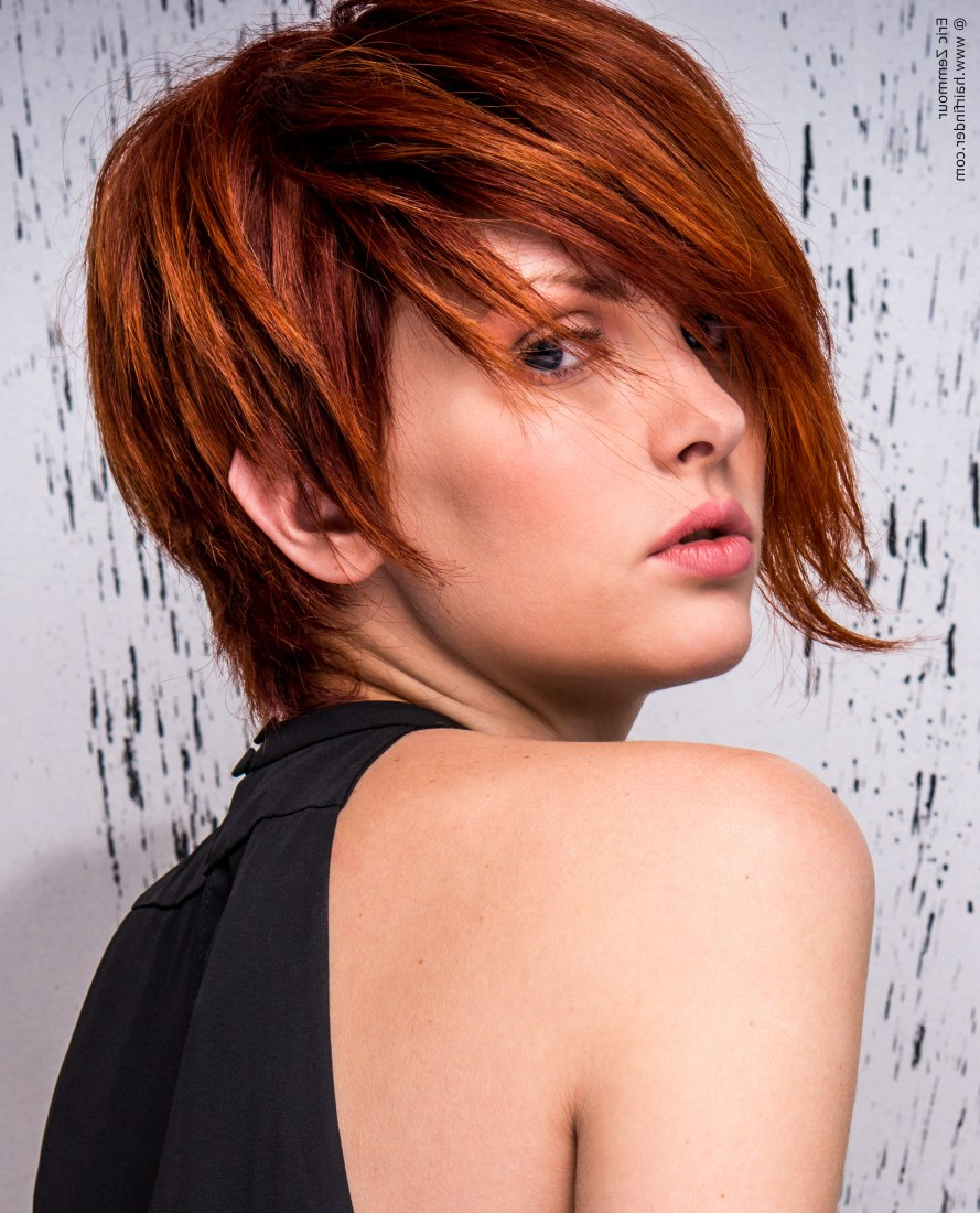 20 Great Short Hairstyles For Thick Hair | Styles Weekly Throughout Asymmetrical Haircuts For Thick Hair (View 4 of 20)