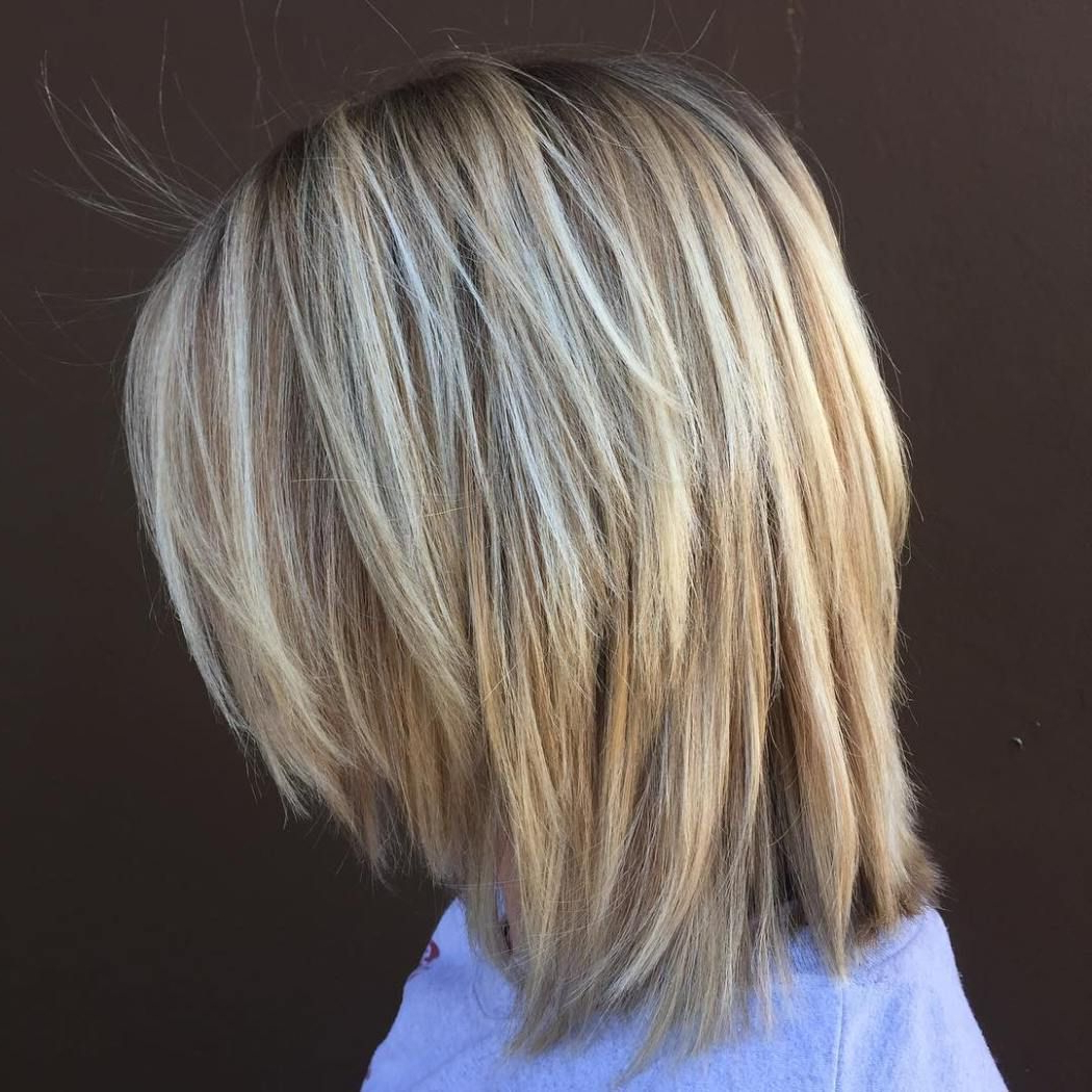 20 Long Choppy Bob Hairstyles For Brunettes And Blondes In 2018 Pertaining To Short Bob Hairstyles With Long Edgy Layers (View 5 of 20)
