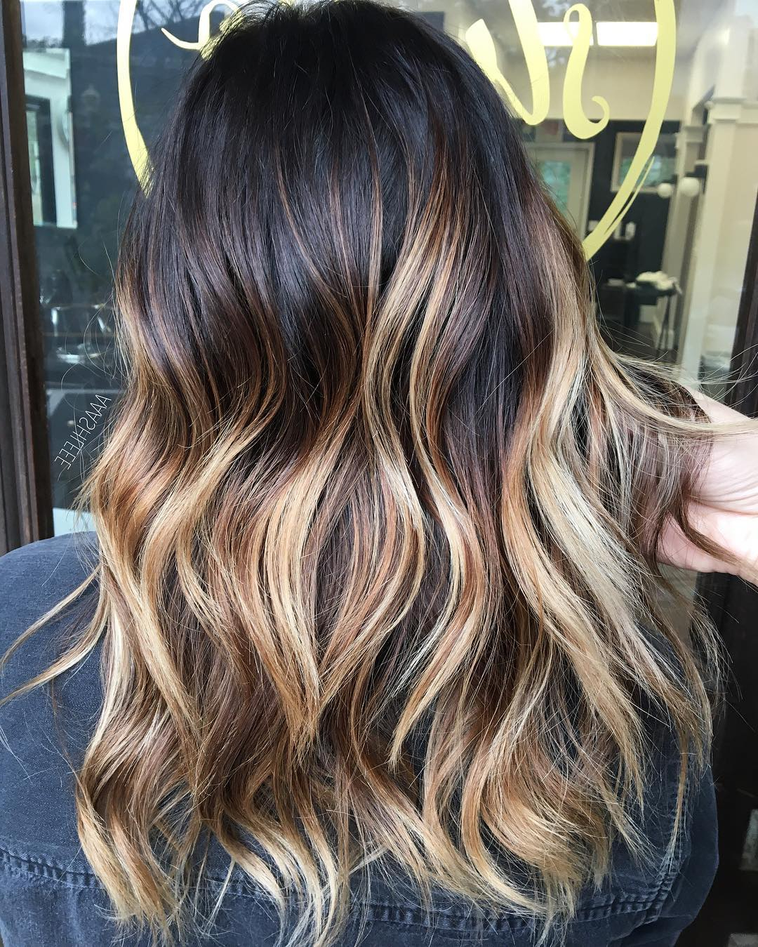 20 New Brown To Blonde Balayage Ideas Not Seen Before Within High Contrast Blonde Balayage Bob Hairstyles (View 4 of 20)
