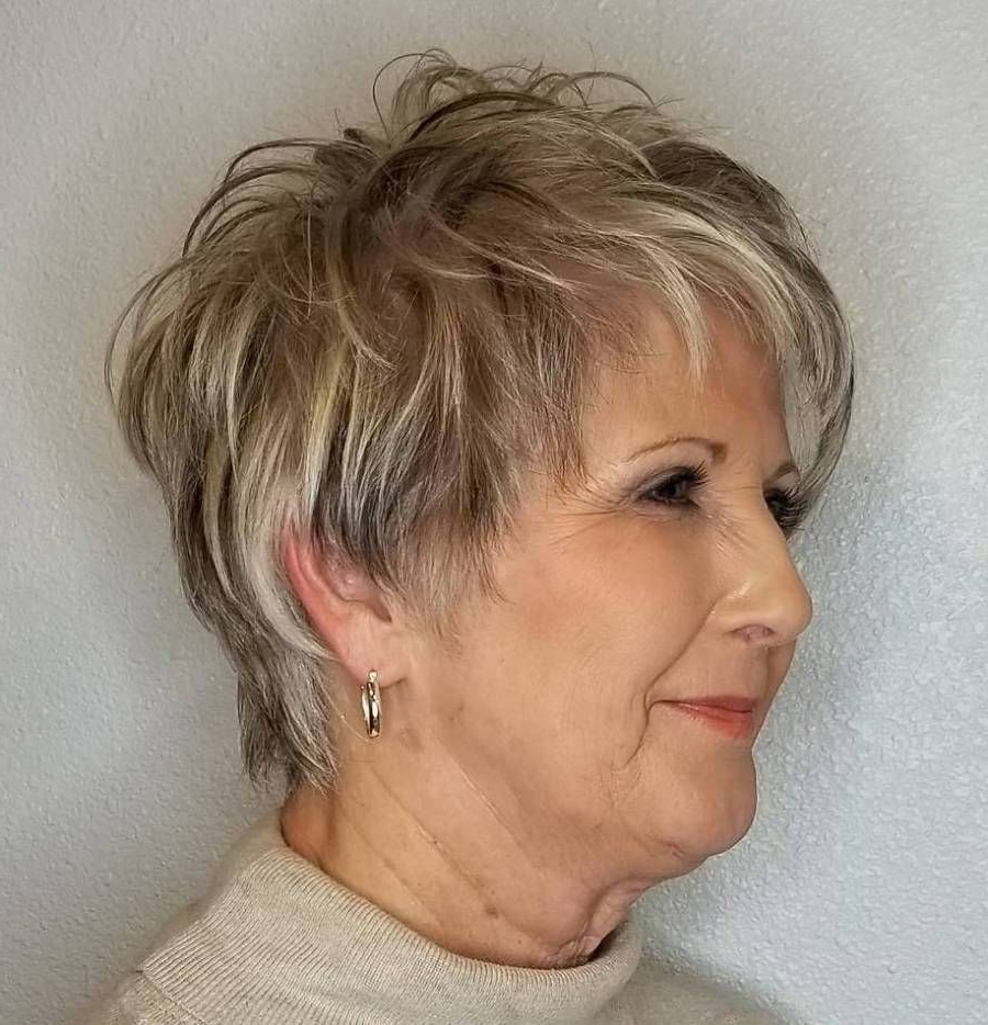 20 Shaggy Hairstyles For Women With Fine Hair Over 50 In 2018 | Hair Intended For Short Gray Shag Hairstyles (View 6 of 20)