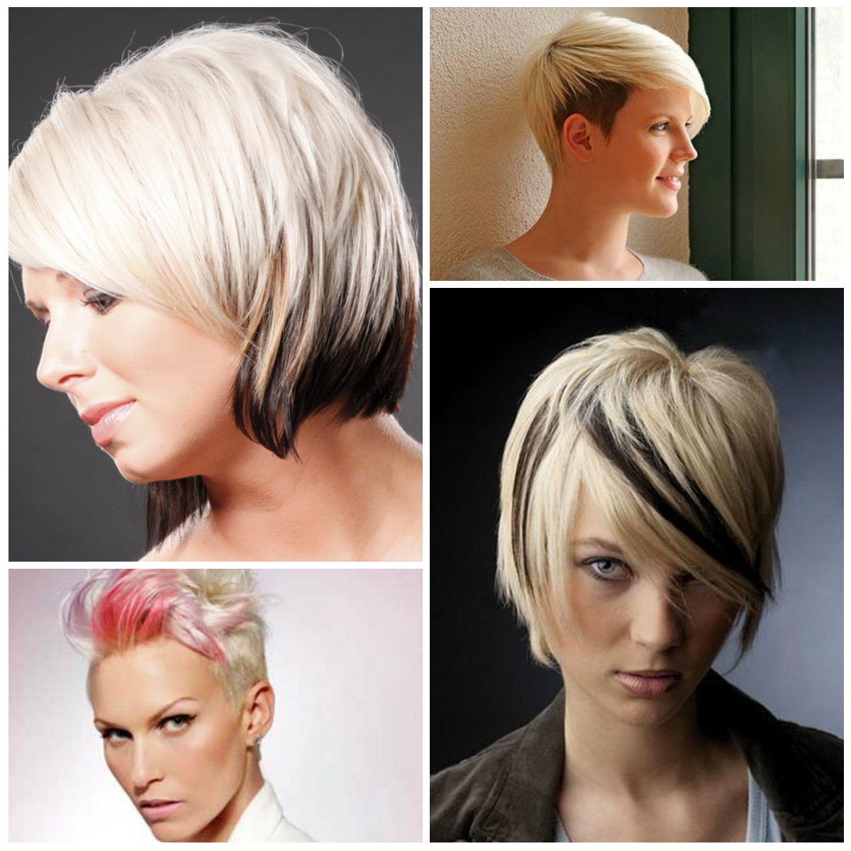 2016 Two Tone Hair Colors For Short Haircuts | 2019 Haircuts Regarding Sexy Pastel Pixie Hairstyles (View 8 of 20)