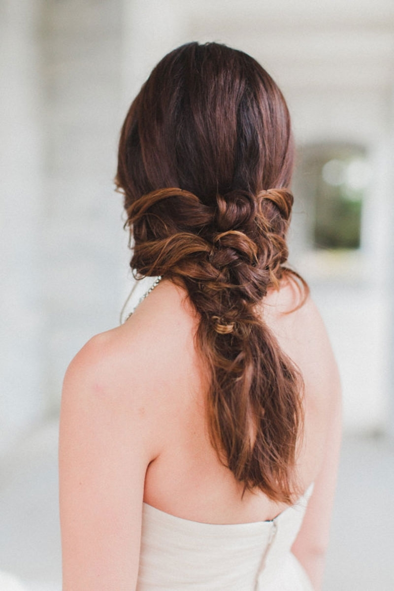 2017 Long Elegant Ponytail Hairstyles Regarding 4 Elegant Ponytail Hairstyles To Complete Your Bridal Look (View 2 of 20)