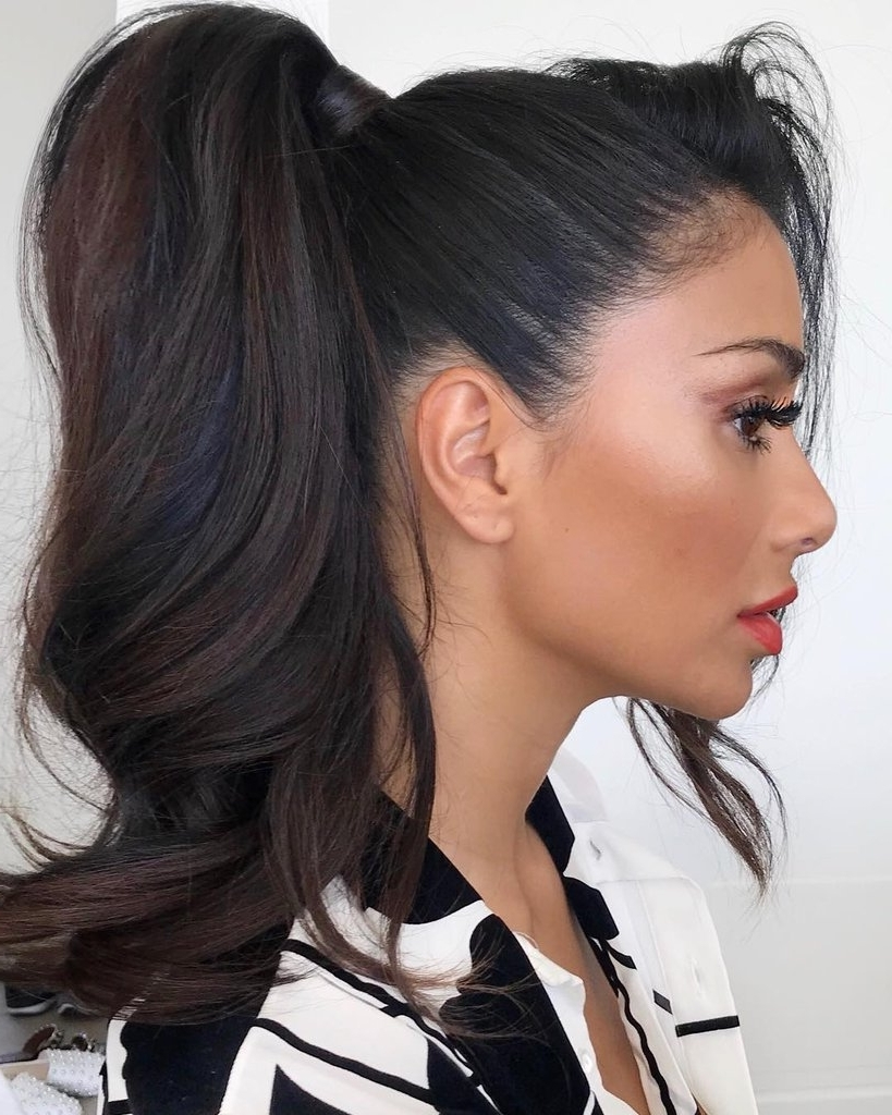 2018 Messy Side Ponytails Pertaining To How To Get A Messy Ponytail Tips (View 4 of 20)