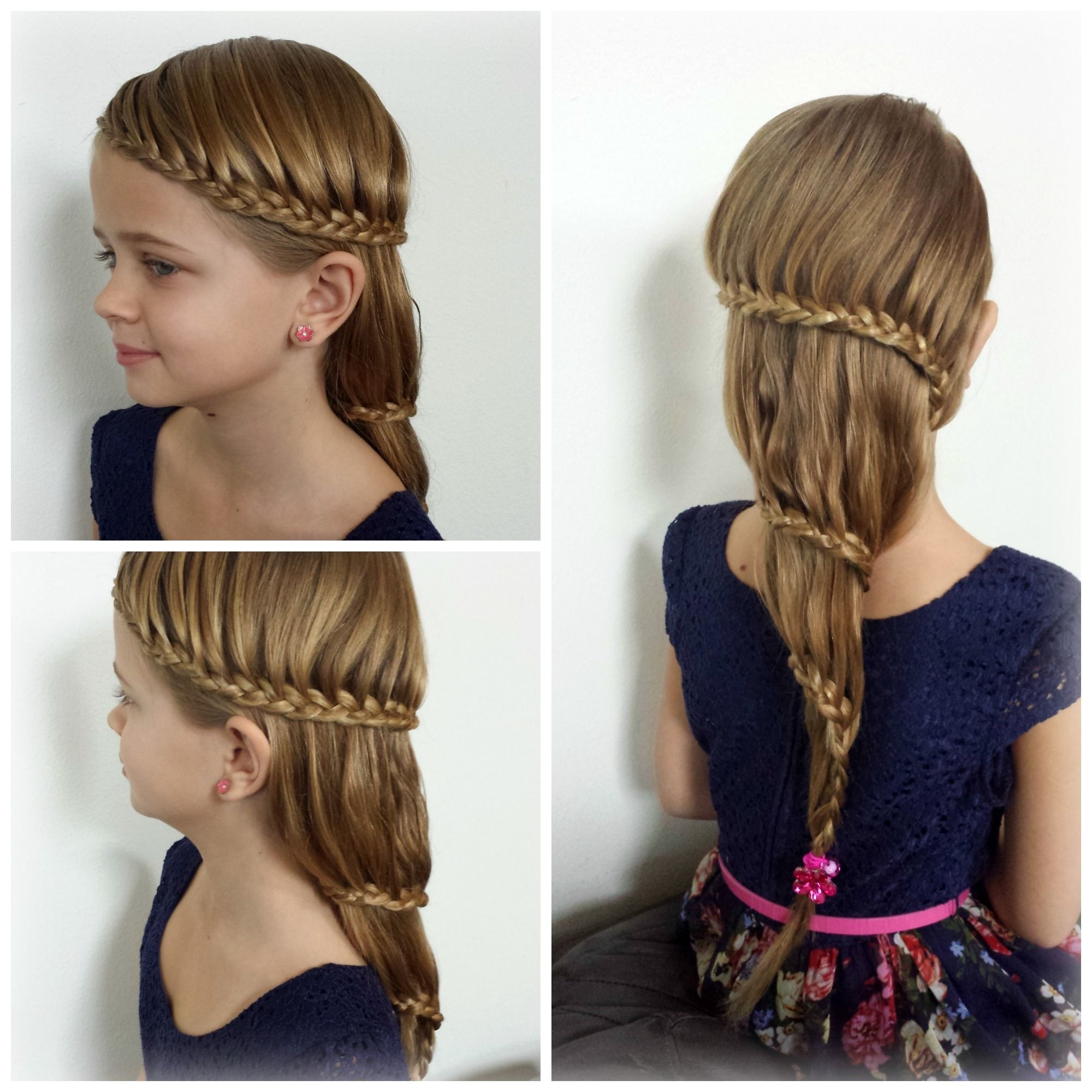 2018 Regal Braided Up Do Ponytail Hairstyles For Carousel Braid. This Regal Braid Is A Show Stopper (View 4 of 20)
