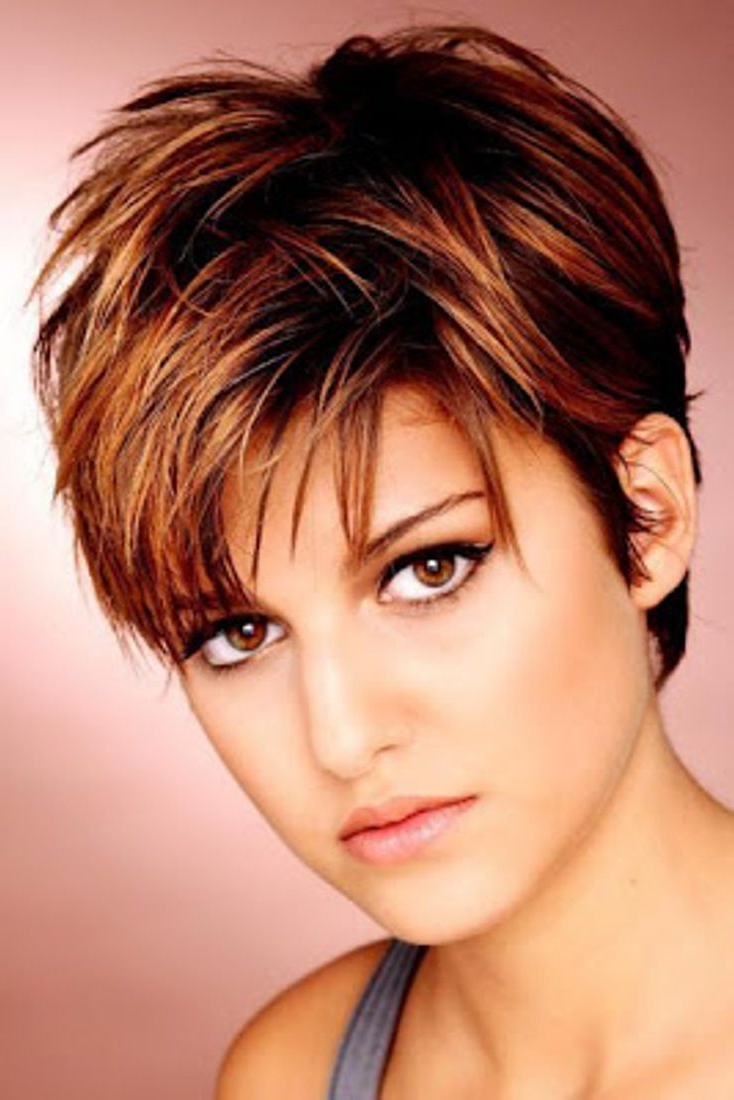 21 Best Short Haircuts For Fine Hair | Jackie's Hair | Pinterest For Feathered Pixie Hairstyles For Thin Hair (View 2 of 20)