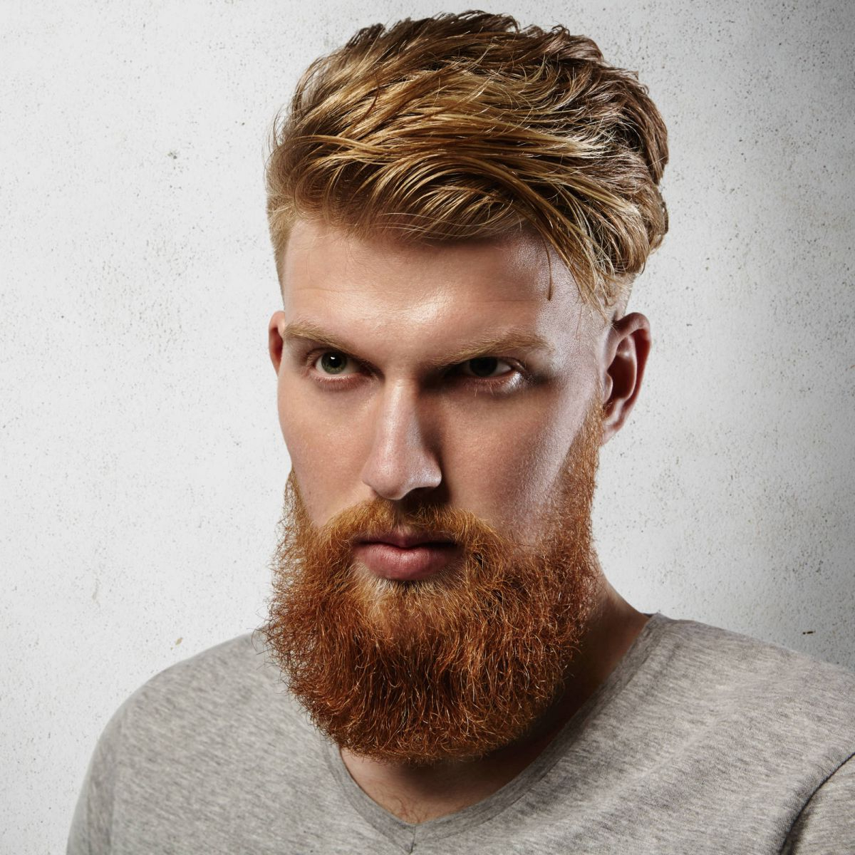 21 Eye Catching Red Hair Men's Hairstyles (Ginger Hairstyles) Pertaining To Tapered Brown Pixie Hairstyles With Ginger Curls (View 2 of 20)