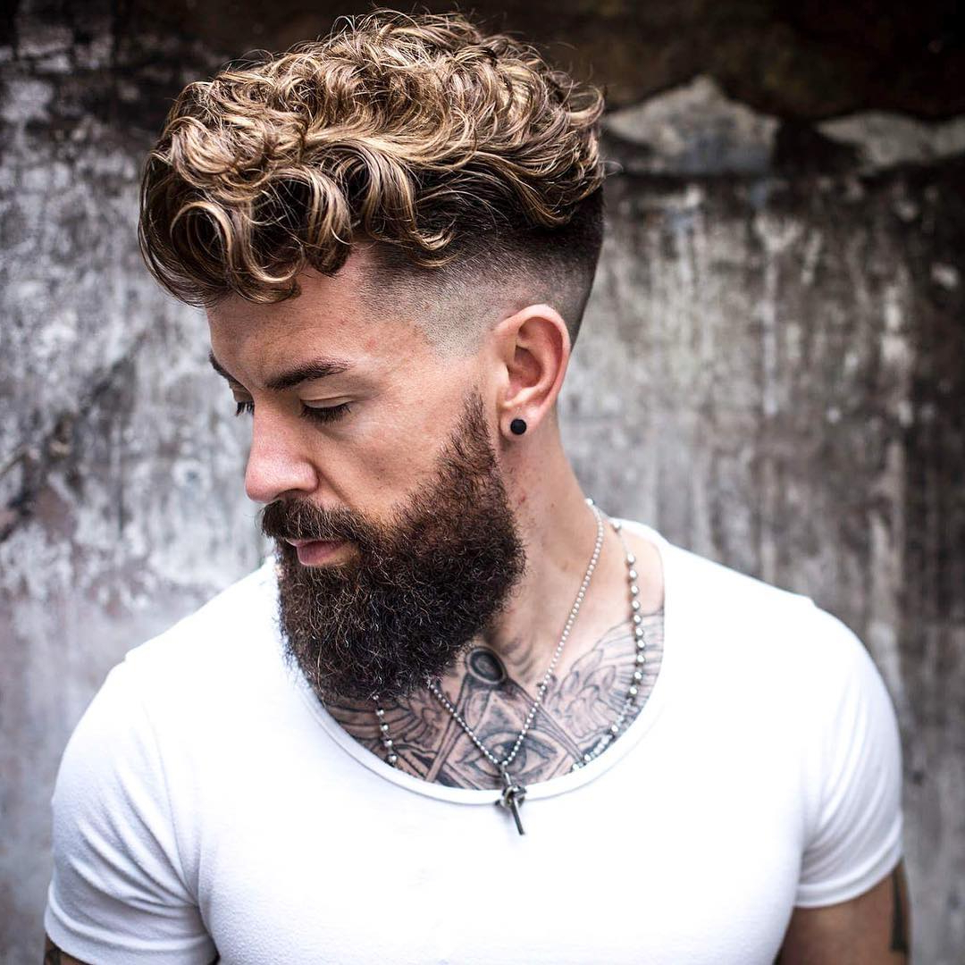 21 Undercut Haircuts + Hairstyles For Men (2018 Update) Within Undercut Hairstyles For Curly Hair (View 2 of 20)