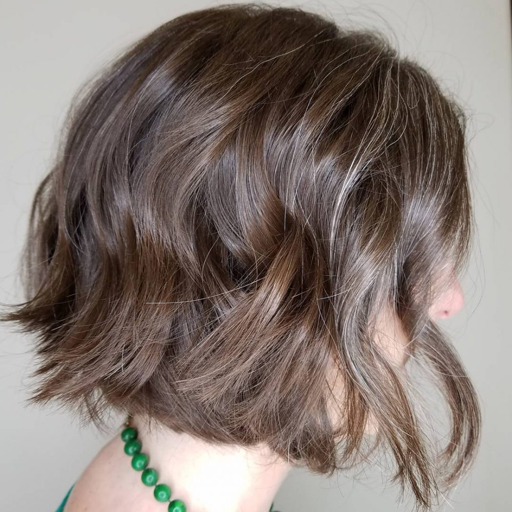 23 Cutest Chin Length Hairstyles (Trending For 2018) With Jaw Length Curly Messy Bob Hairstyles (View 5 of 20)