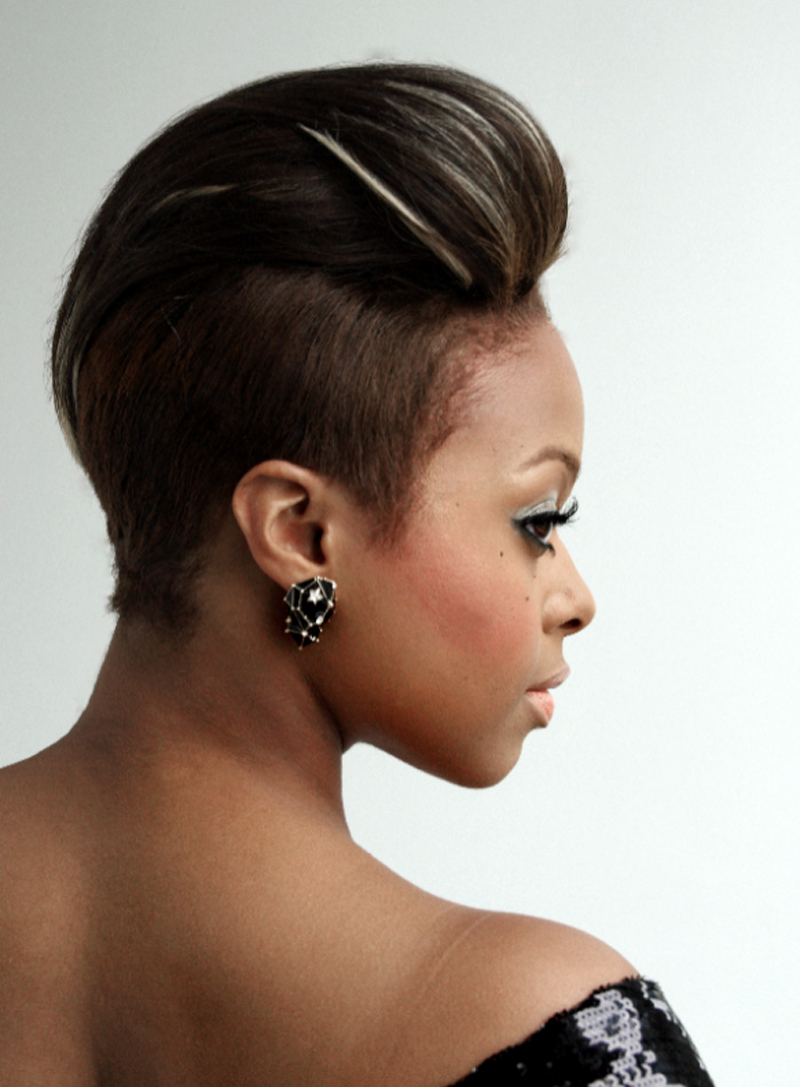 23 Must See Short Hairstyles For Black Women | Styles Weekly For Sleek Metallic White Pixie Bob Haircuts (View 3 of 20)