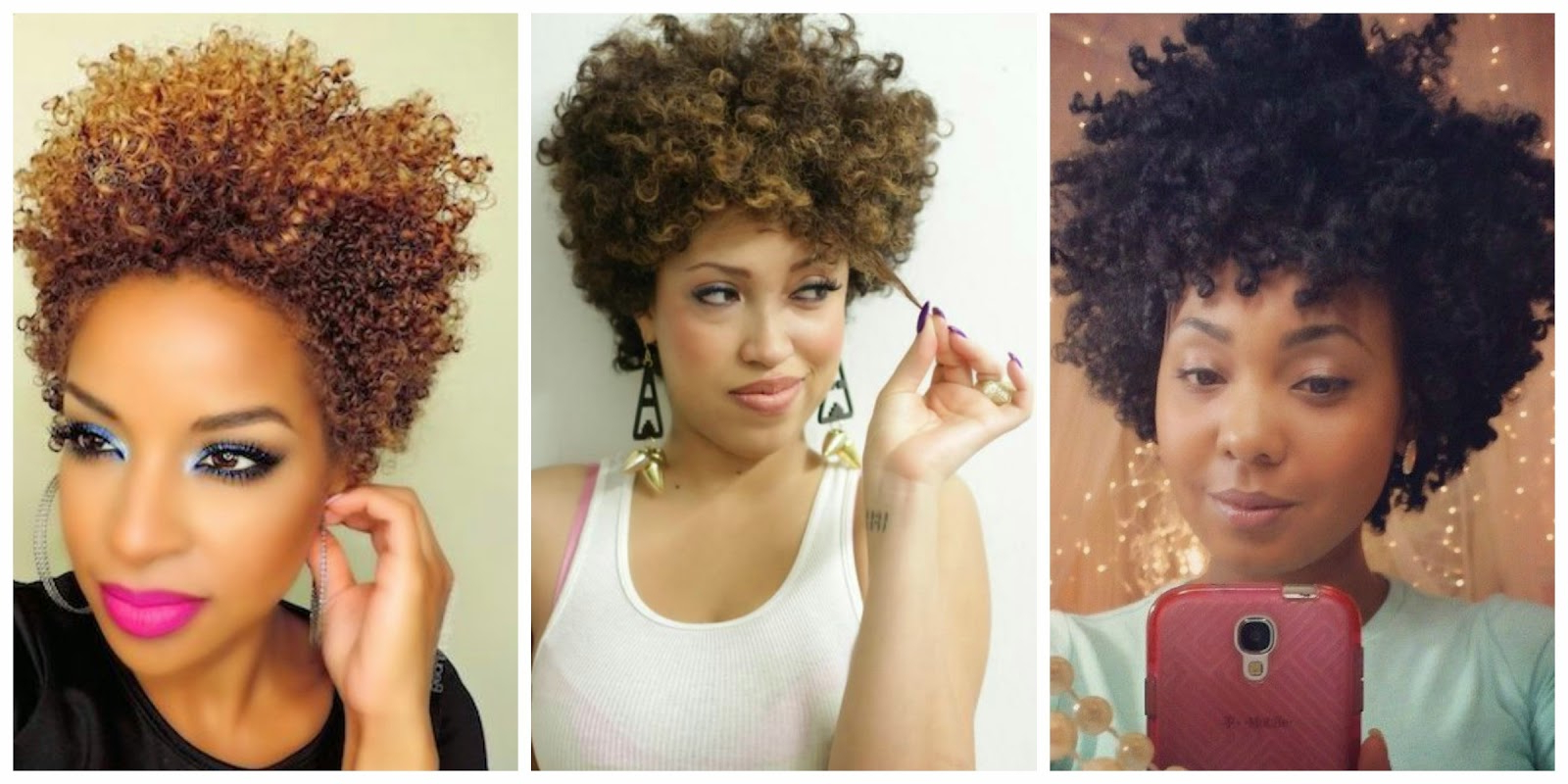 23 Must See Short Hairstyles For Black Women | Styles Weekly With Curly Black Tapered Pixie Hairstyles (View 3 of 20)